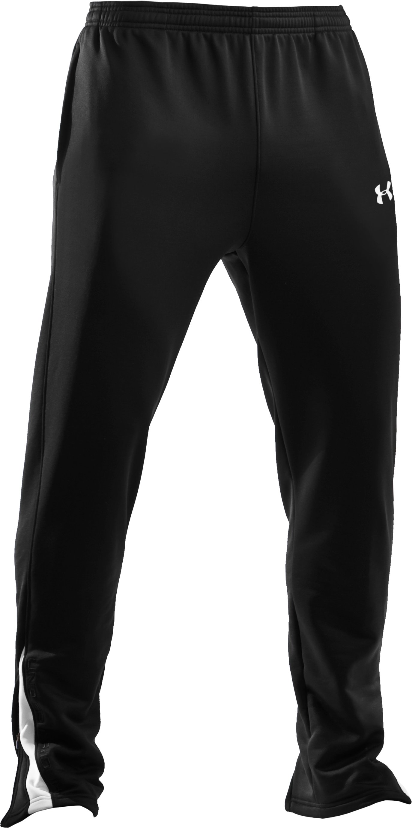 Men's UA Classic Warm-Up Pants, Black ,