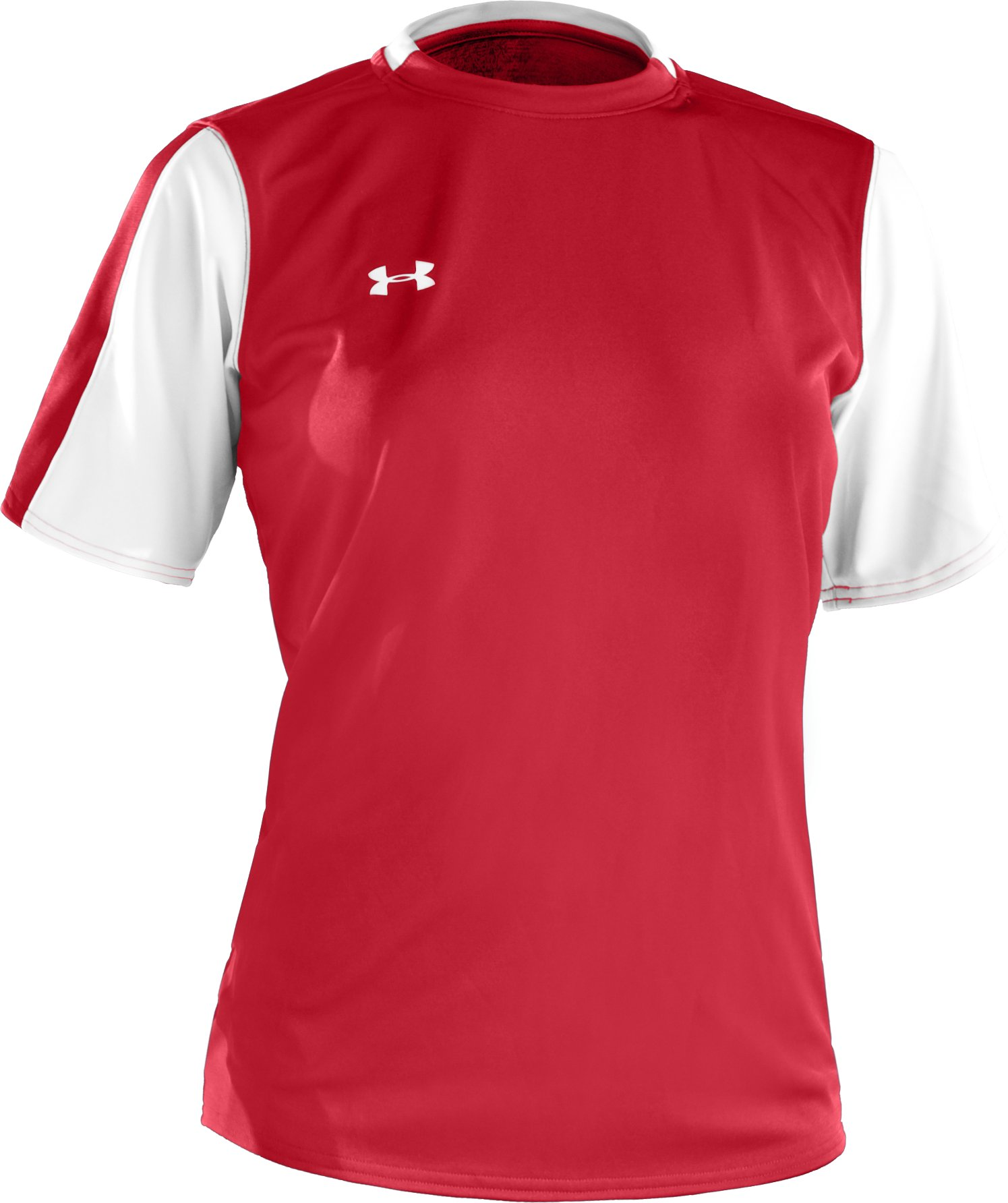 Women's UA Classic Short Sleeve Jersey, Red,