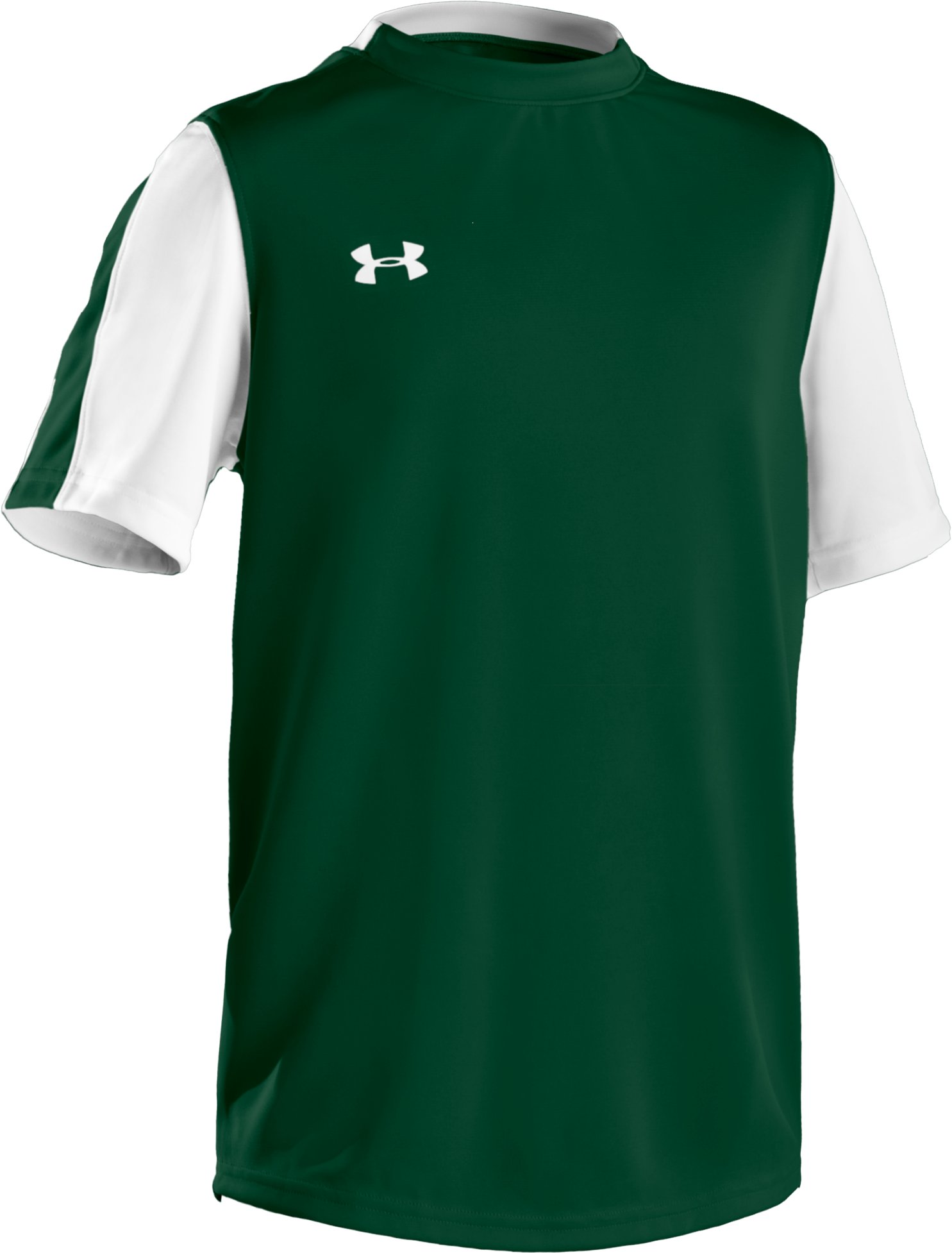 Boys' UA Classic Short Sleeve Jersey, Forest Green