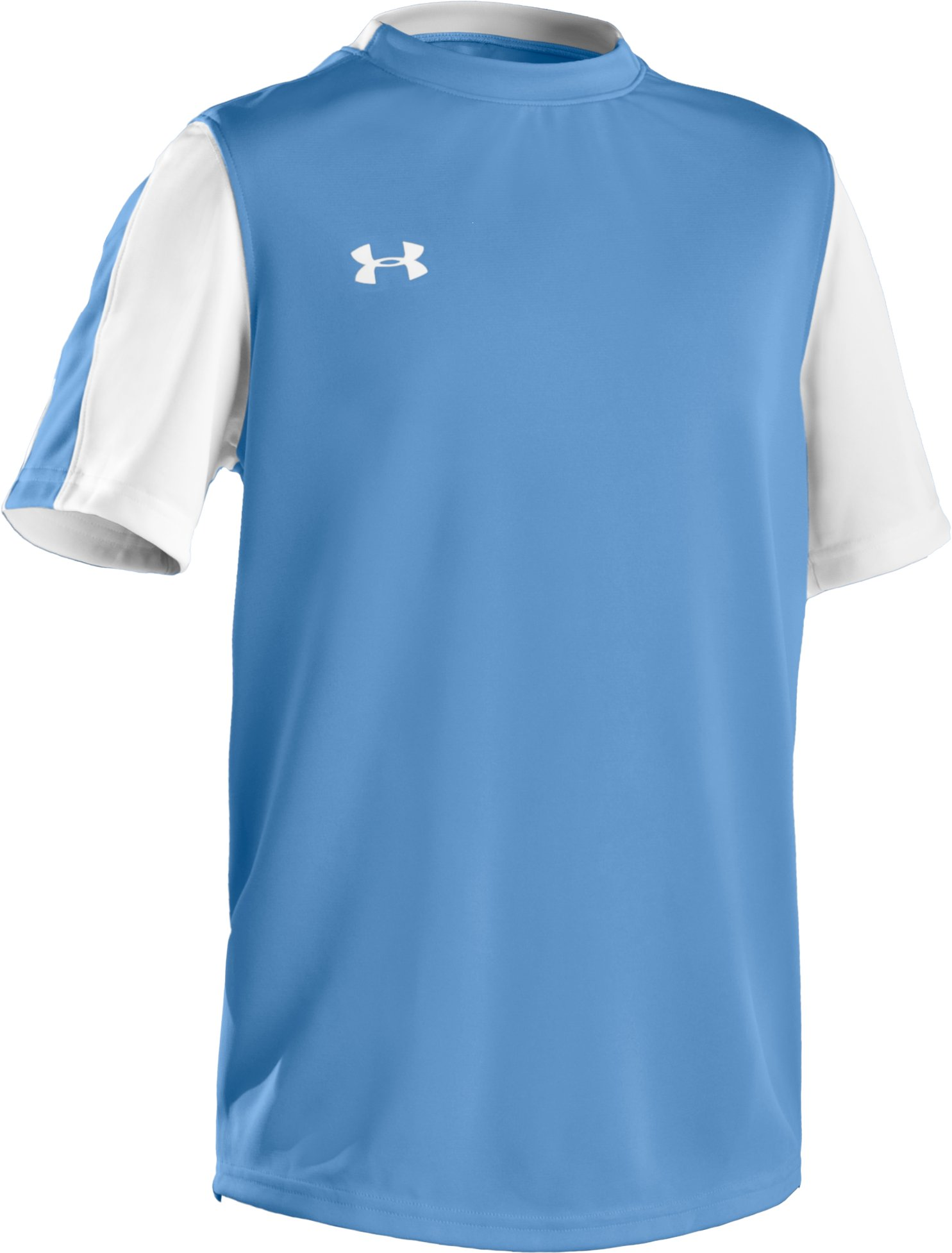 Boys' UA Classic Short Sleeve Jersey, Carolina Blue, zoomed image