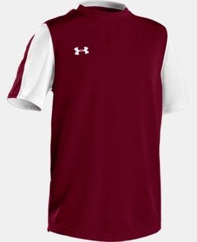 Boys' UA Classic Short Sleeve Jersey LIMITED TIME: FREE U.S. SHIPPING 1 Color $14.99