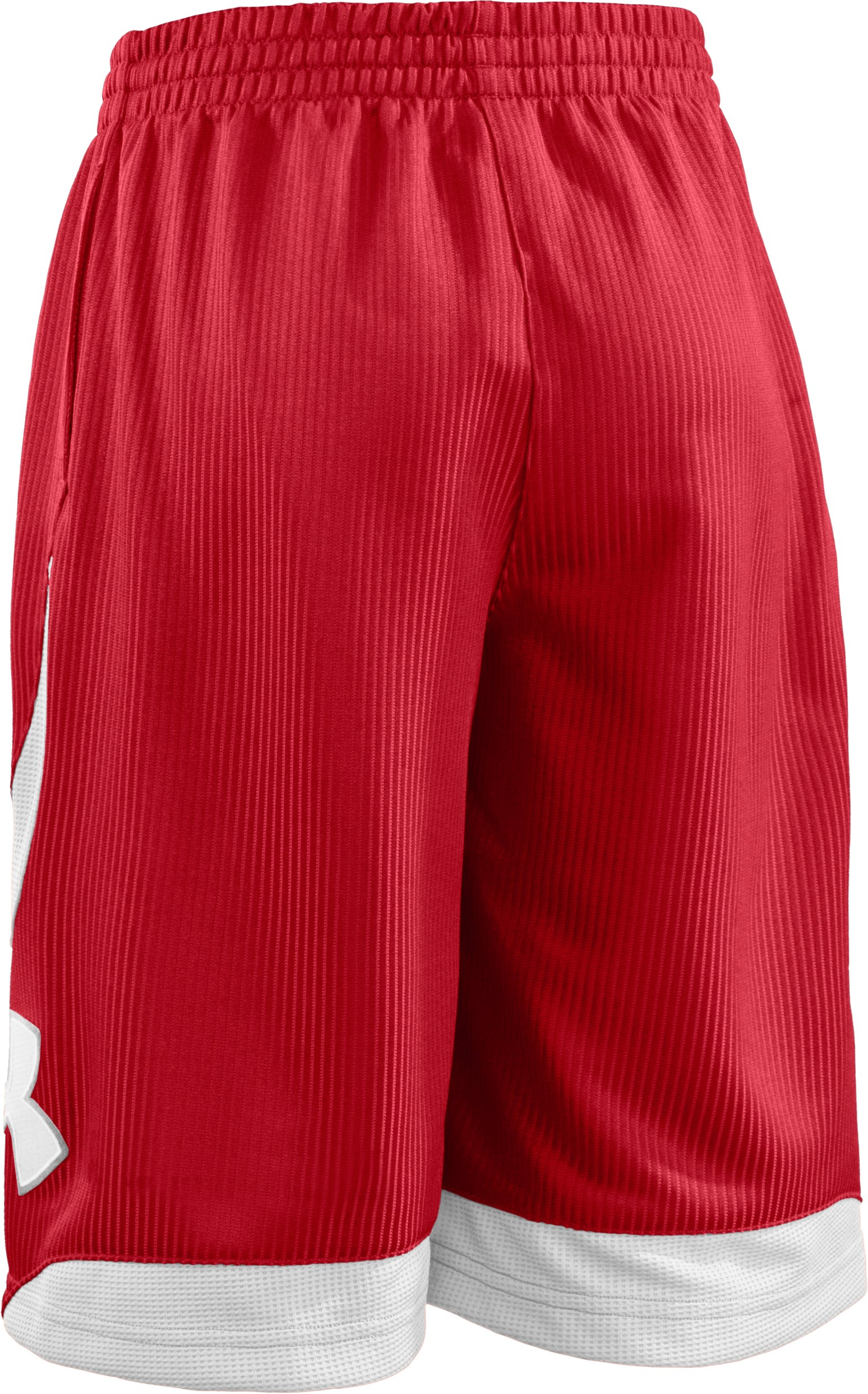"Boys' Valkyrie 10"" Basketball Shorts, Red"