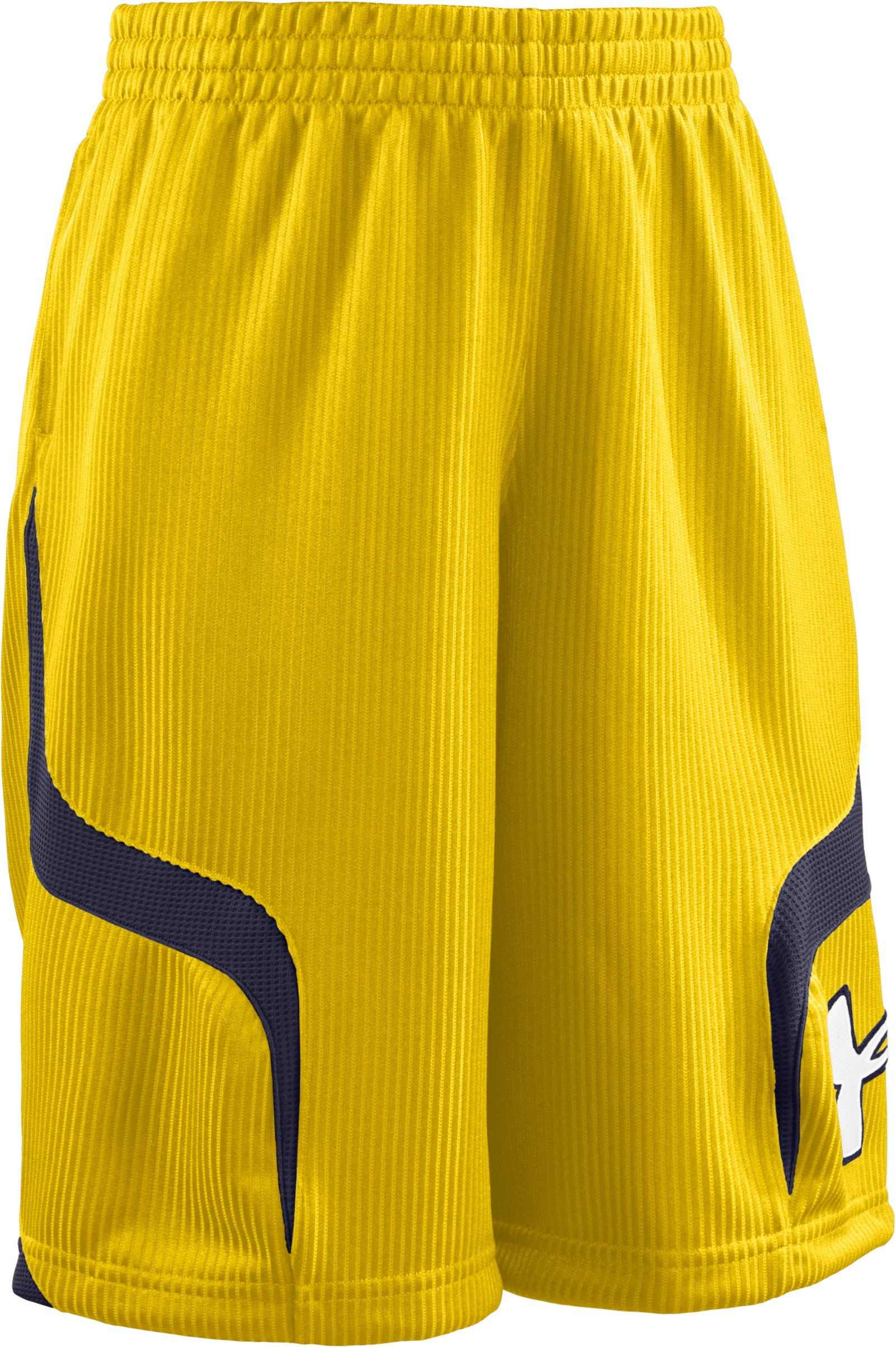 "Boys' Valkyrie 10"" Basketball Shorts, Taxi, zoomed image"