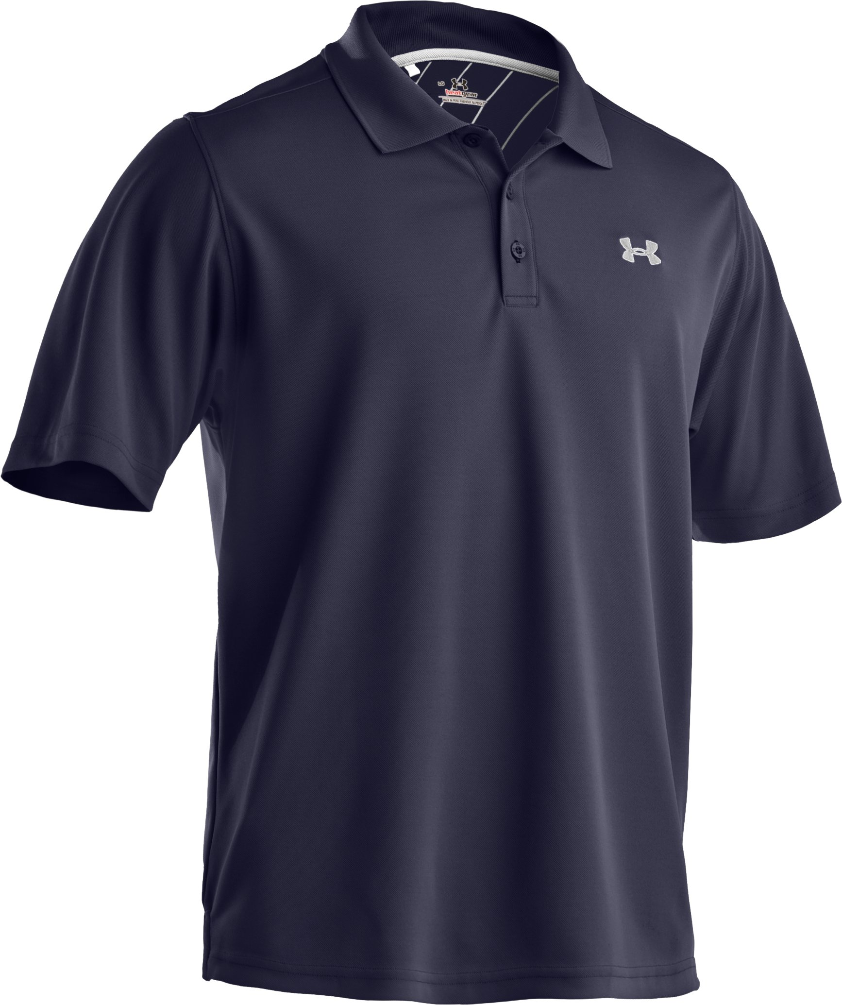 Men's UA Fade Solid Polo, Midnight Navy, undefined