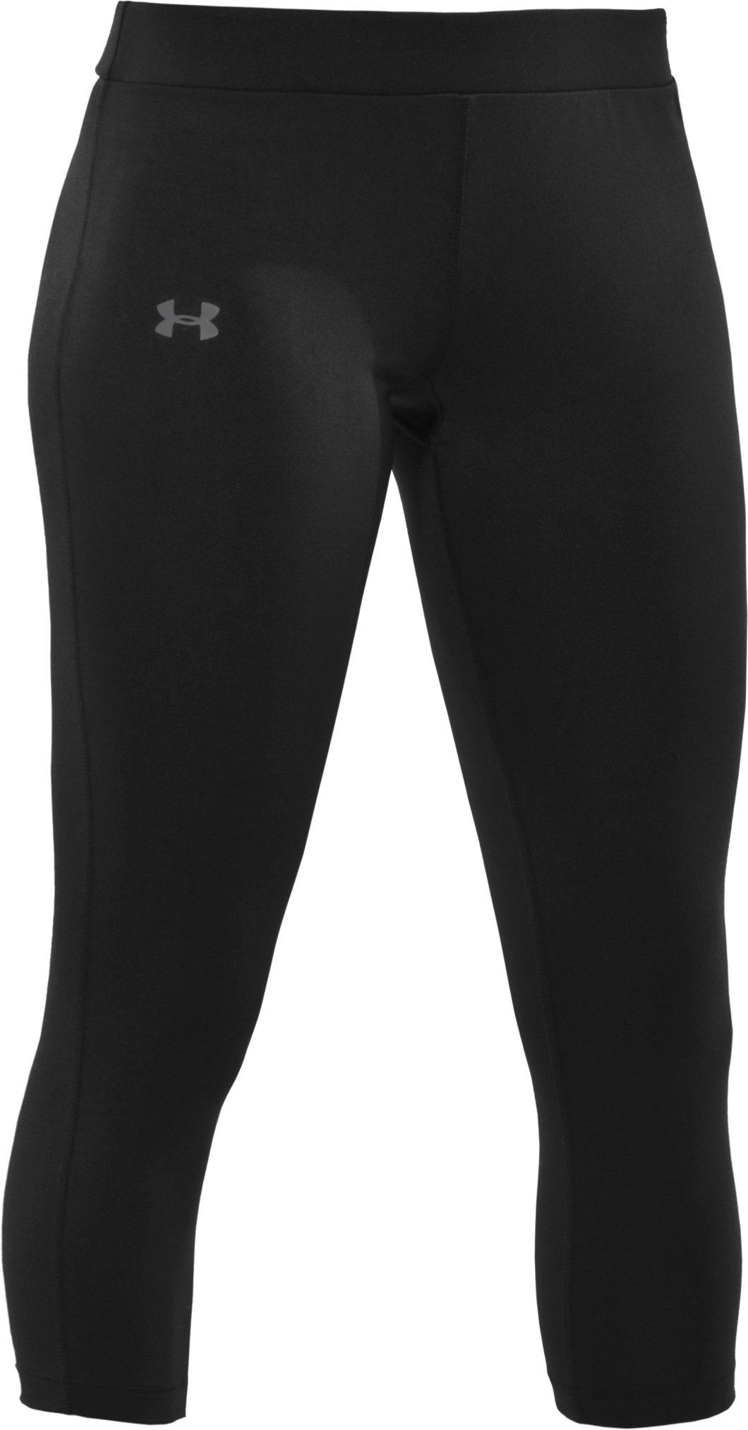 Women's UA HeatGear® Touch Capri Pants, Black