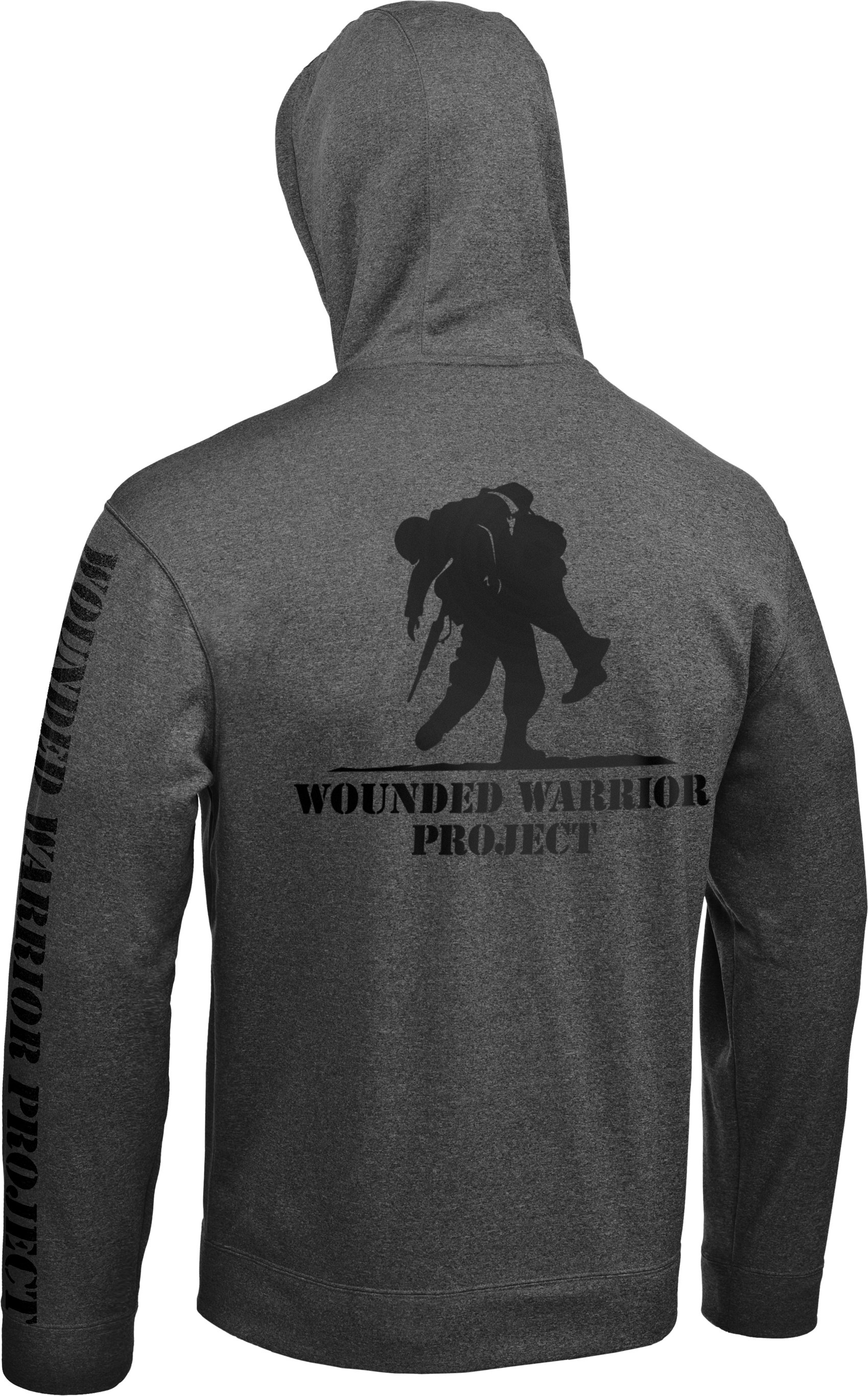 Men's WWP Hoodie, Medium Gray Heather, undefined