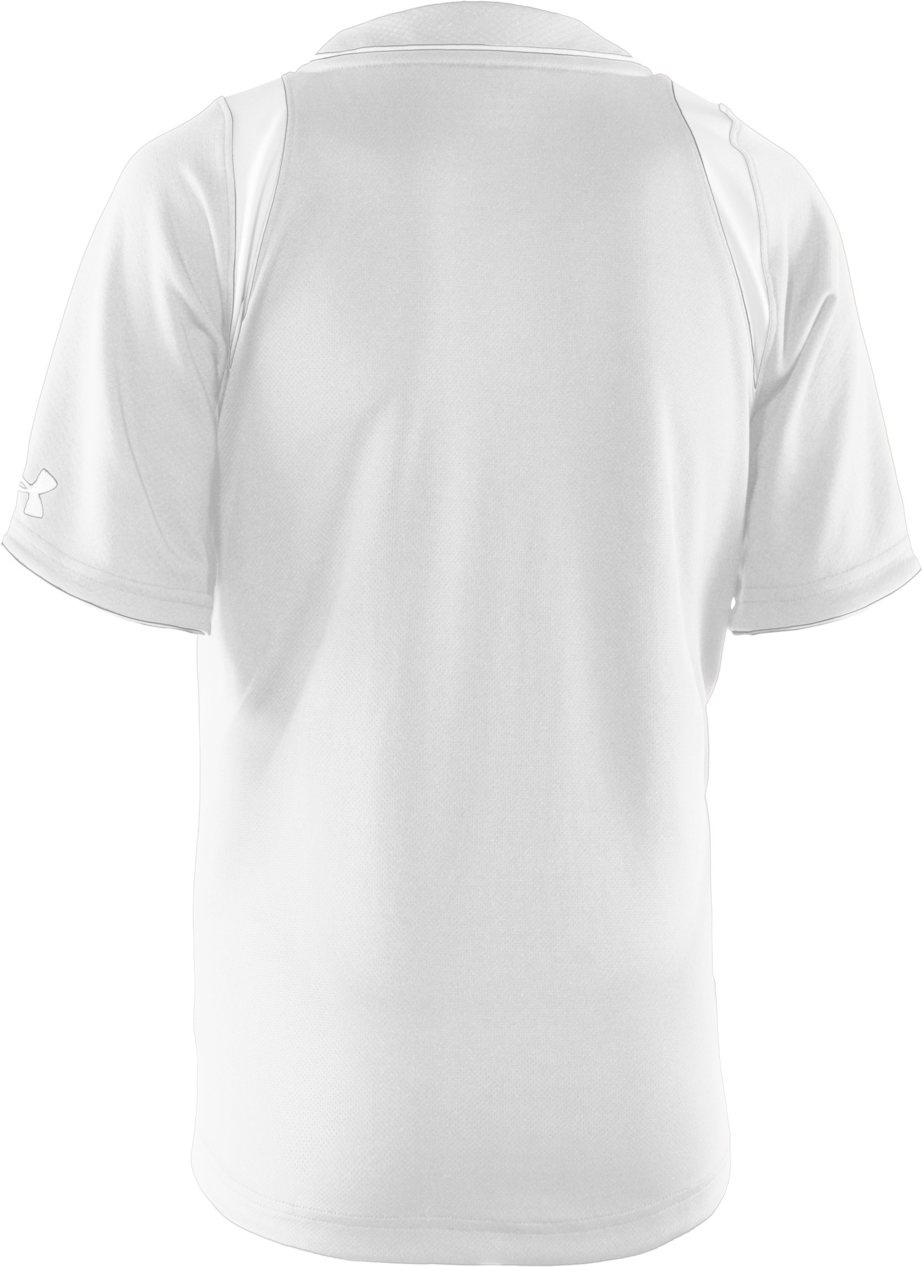 Boys' UA Tunnel Short Sleeve Jersey, White