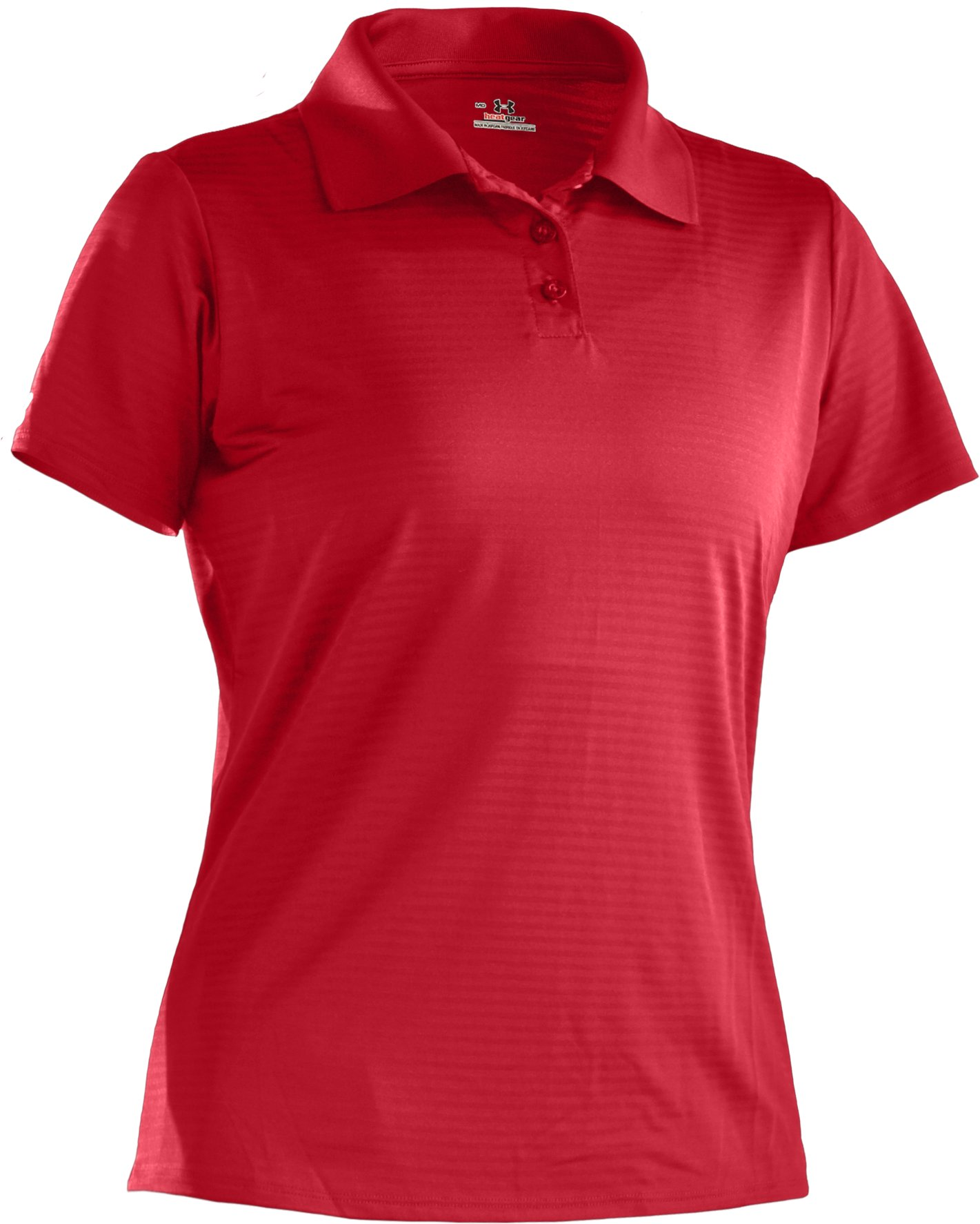 Women's UA Catalyst Team Short Sleeve Polo, Red