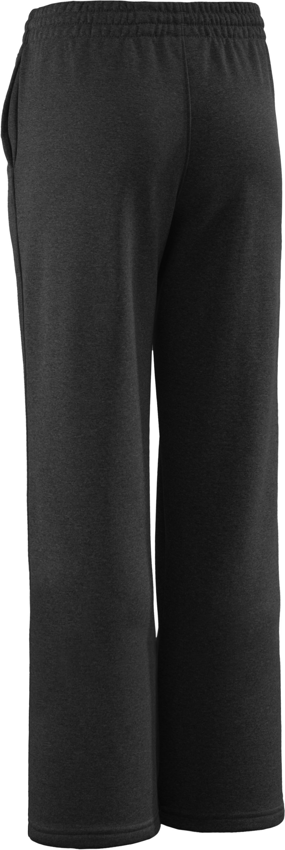Boys' Armour® Fleece Pants II, Black , undefined