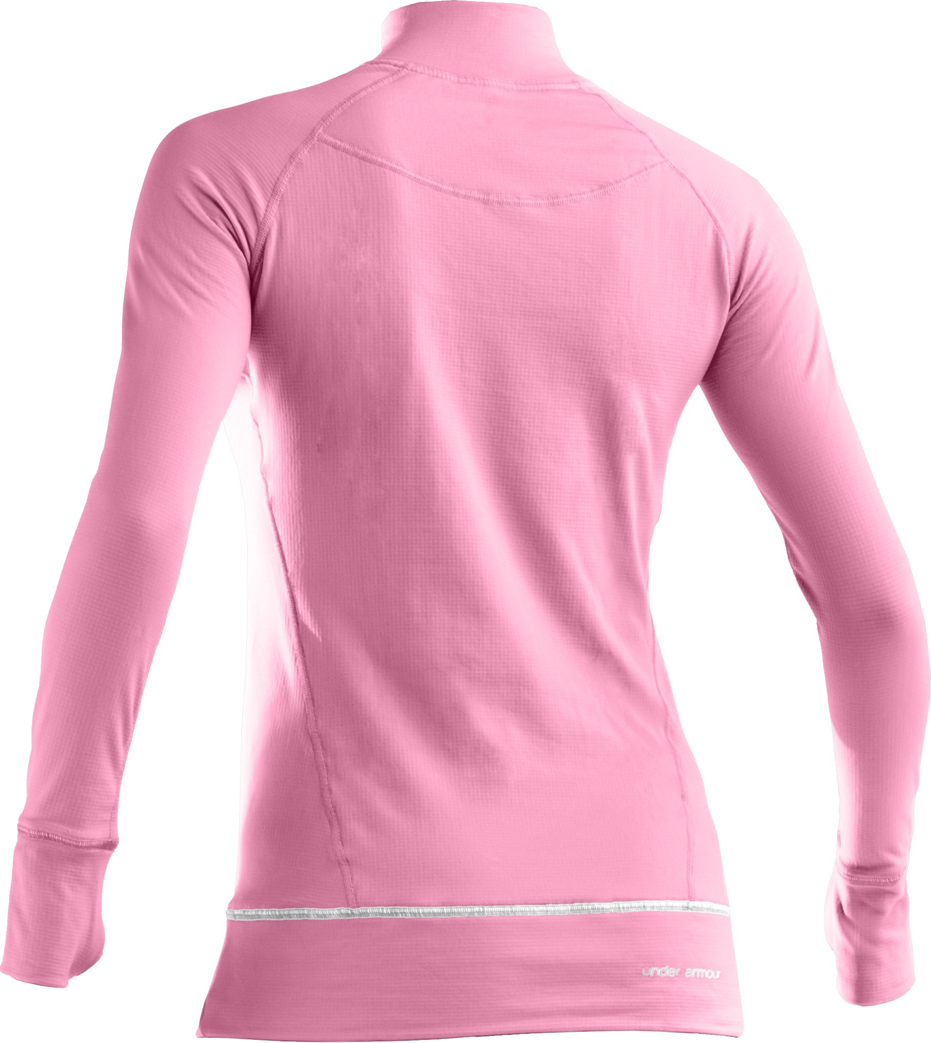 Women's UA Power In Pink® Base™ 2.0 Long Sleeve Crew, True Pink