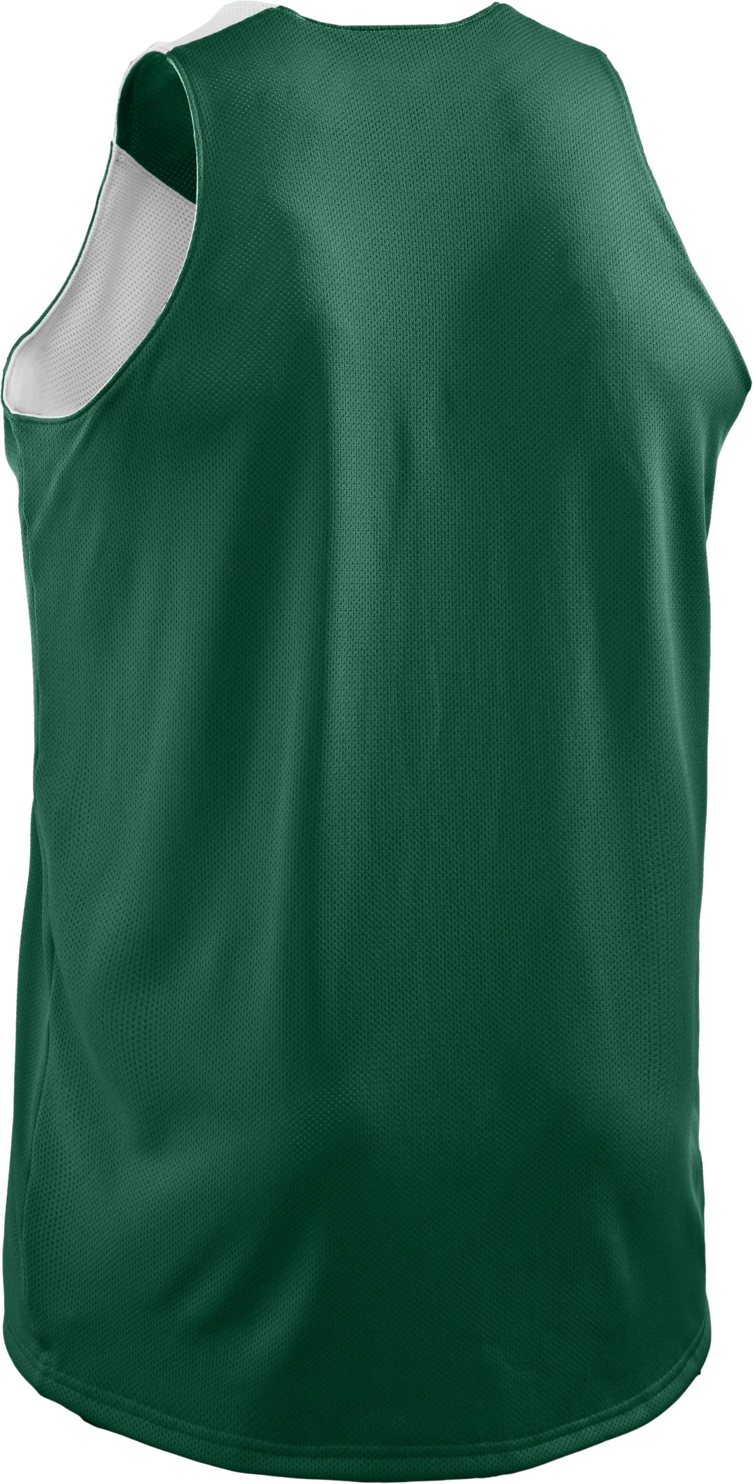 Men's Repeat Reversible Basketball Jersey, Forest Green