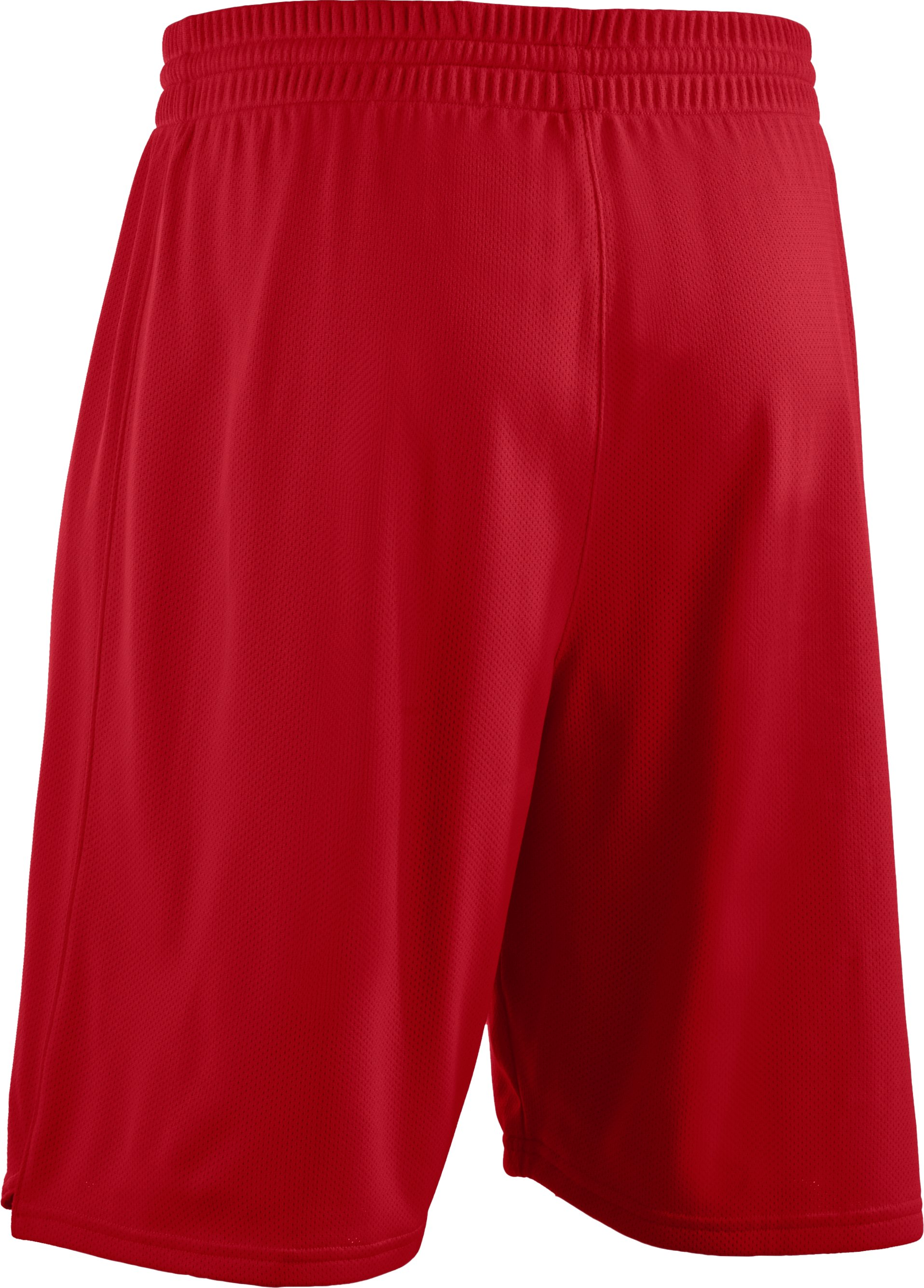 "Men's Dominate 10"" Basketball Shorts, Red"
