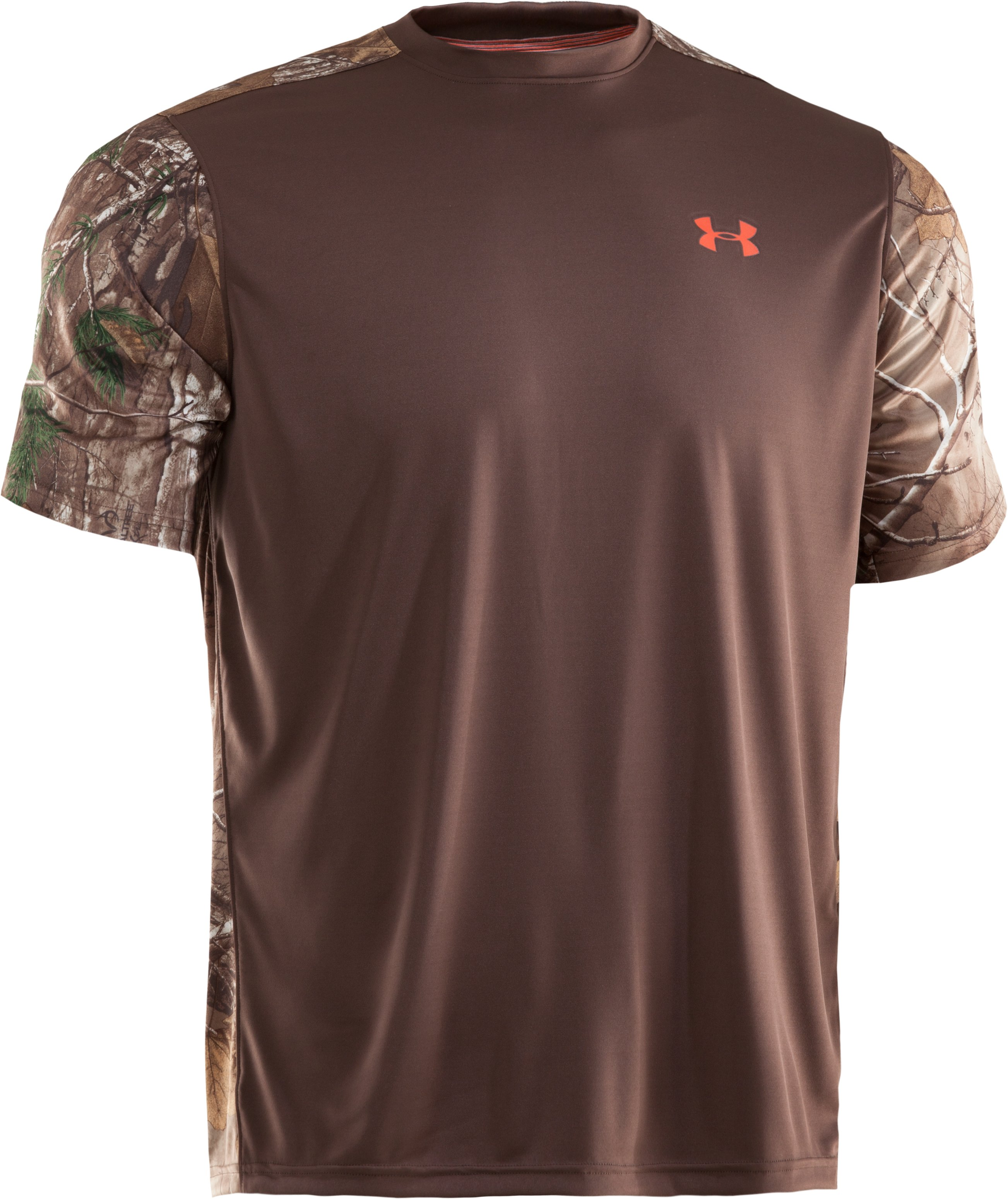 Men's Wylie Short Sleeve Camo T-Shirt, Timber