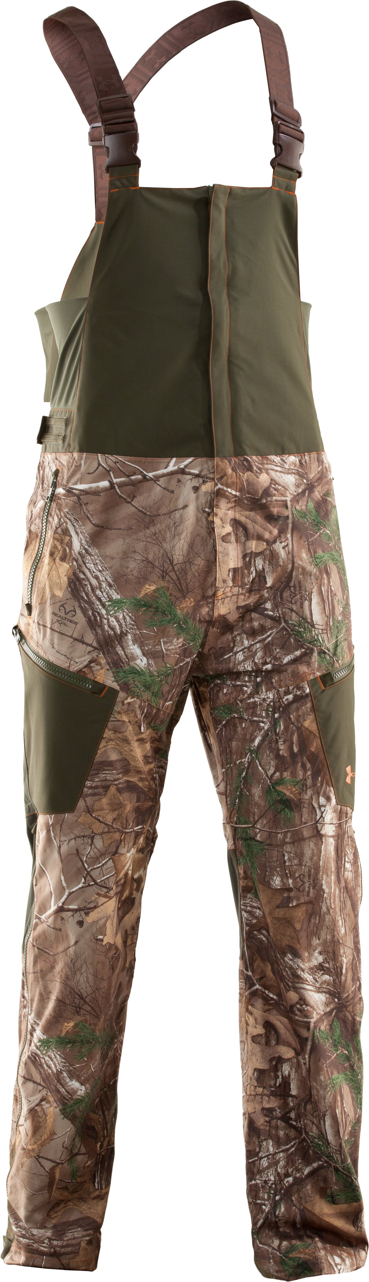 Men's Ridge Reaper® Shell Camo Hunting Bib, REALTREE AP-XTRA,