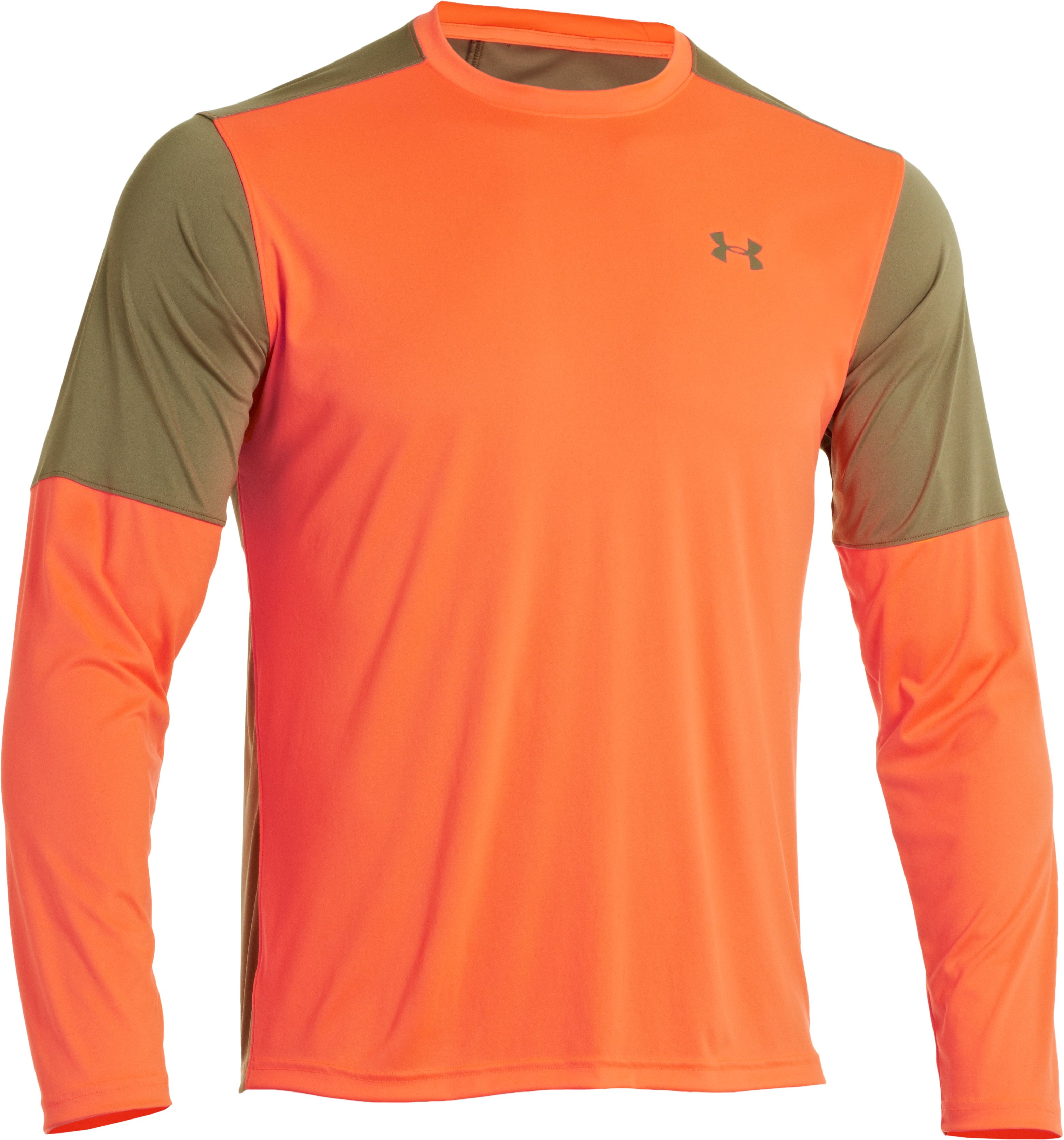 Men's Wylie Long Sleeve Hunting Shirt, Blaze Orange