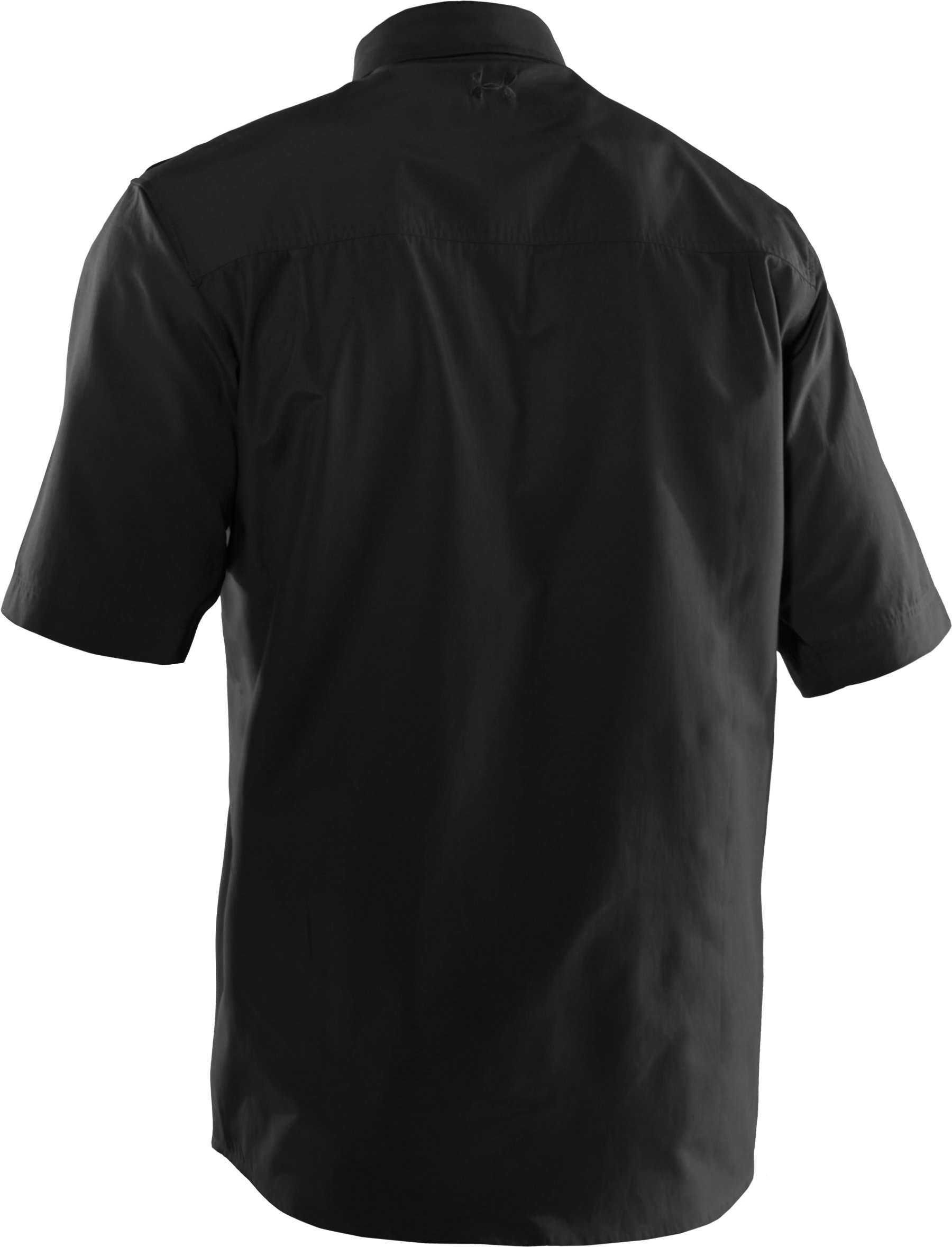 Men's Counter Short Sleeve Tactical Shirt, Black , undefined