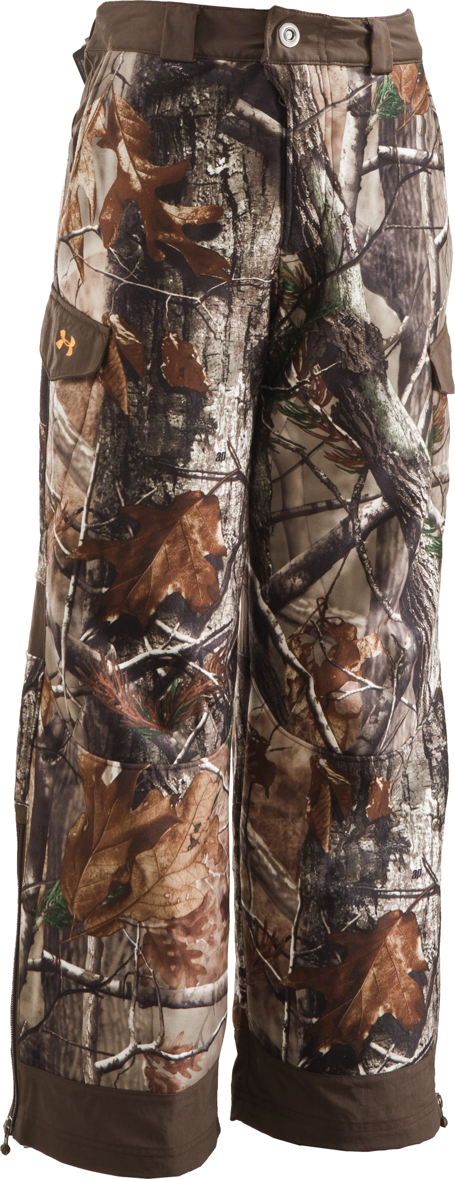 Boys' Ayton Camo Hunting Pants, Realtree AP