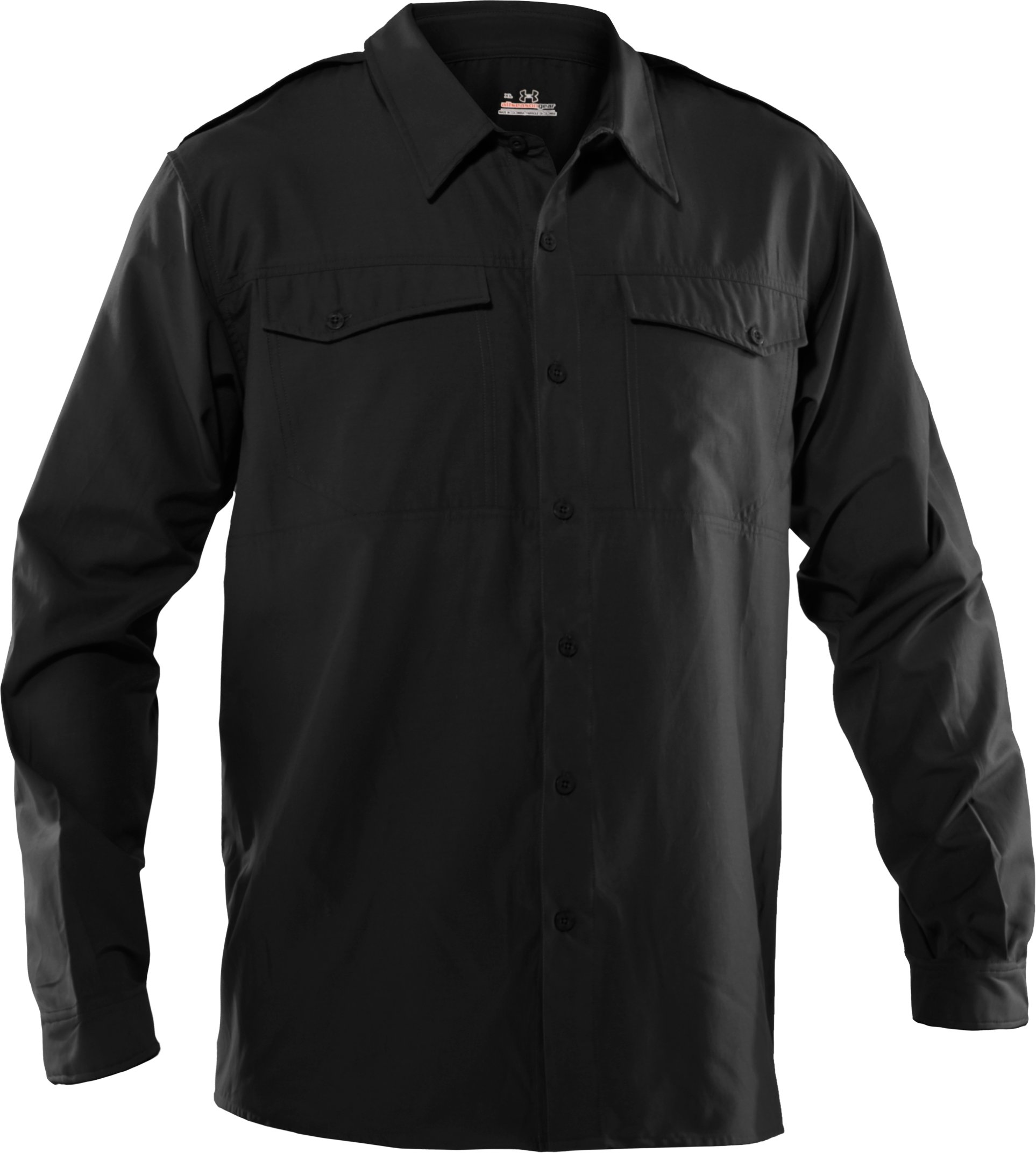 Men's Counter Long Sleeve Tactical Shirt, Black