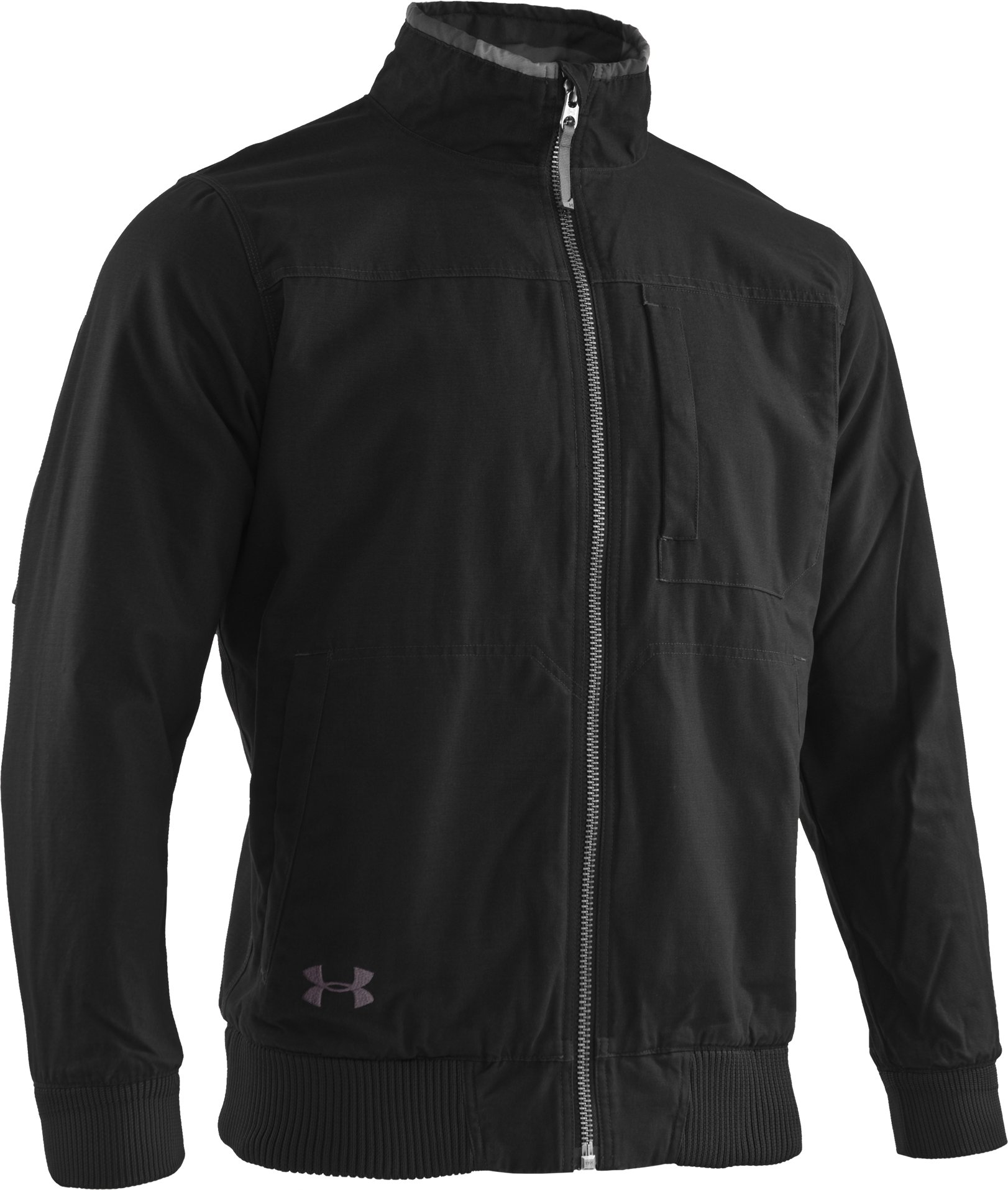 Men's Quilted Jacket, Black , undefined