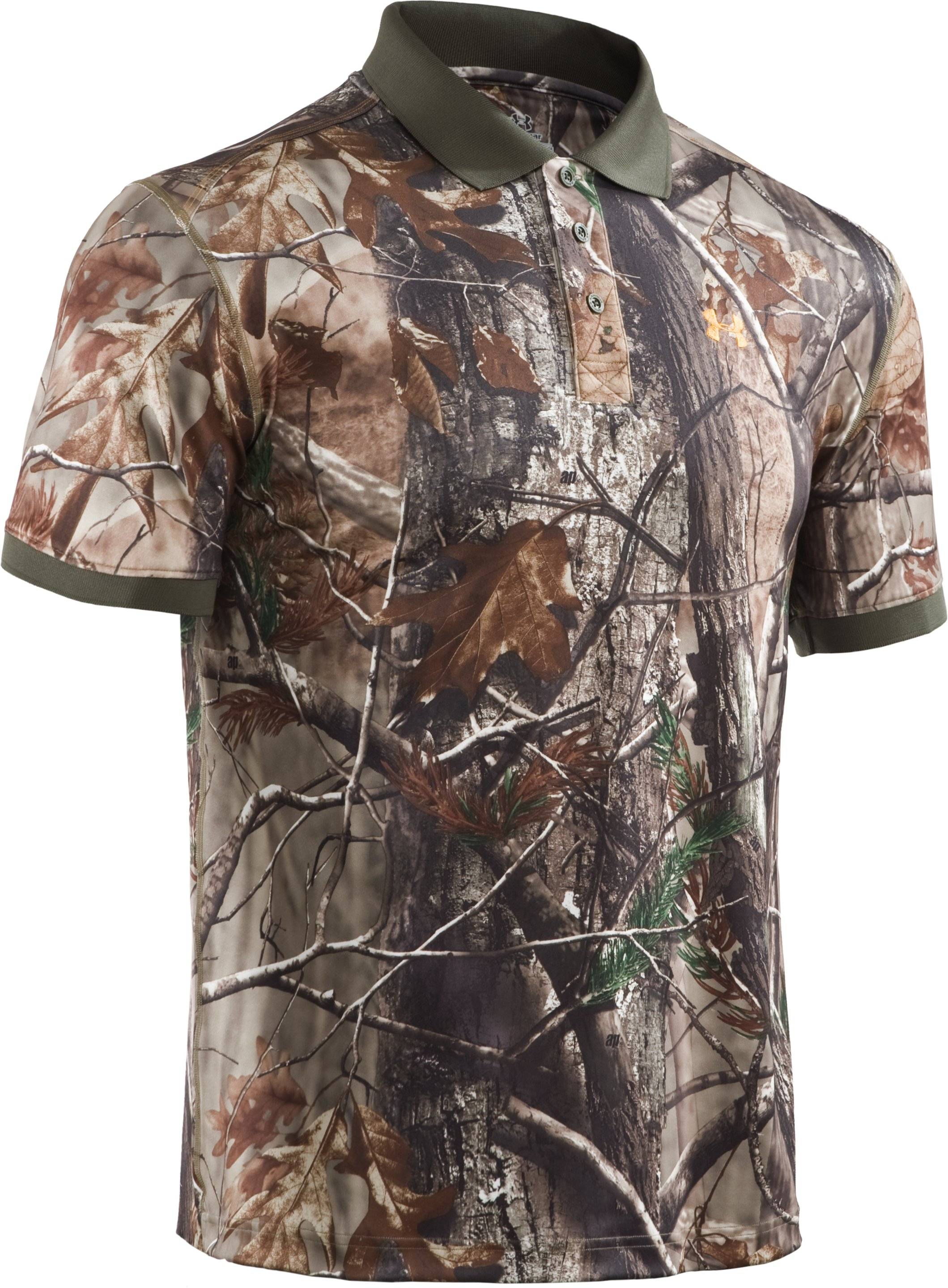 Men's UA Hunt Camouflage Polo, Realtree AP