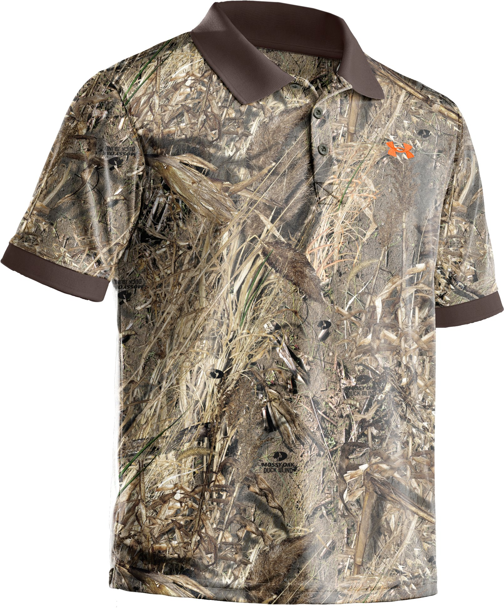 Men's UA Hunt Camouflage Polo, Duck Blind