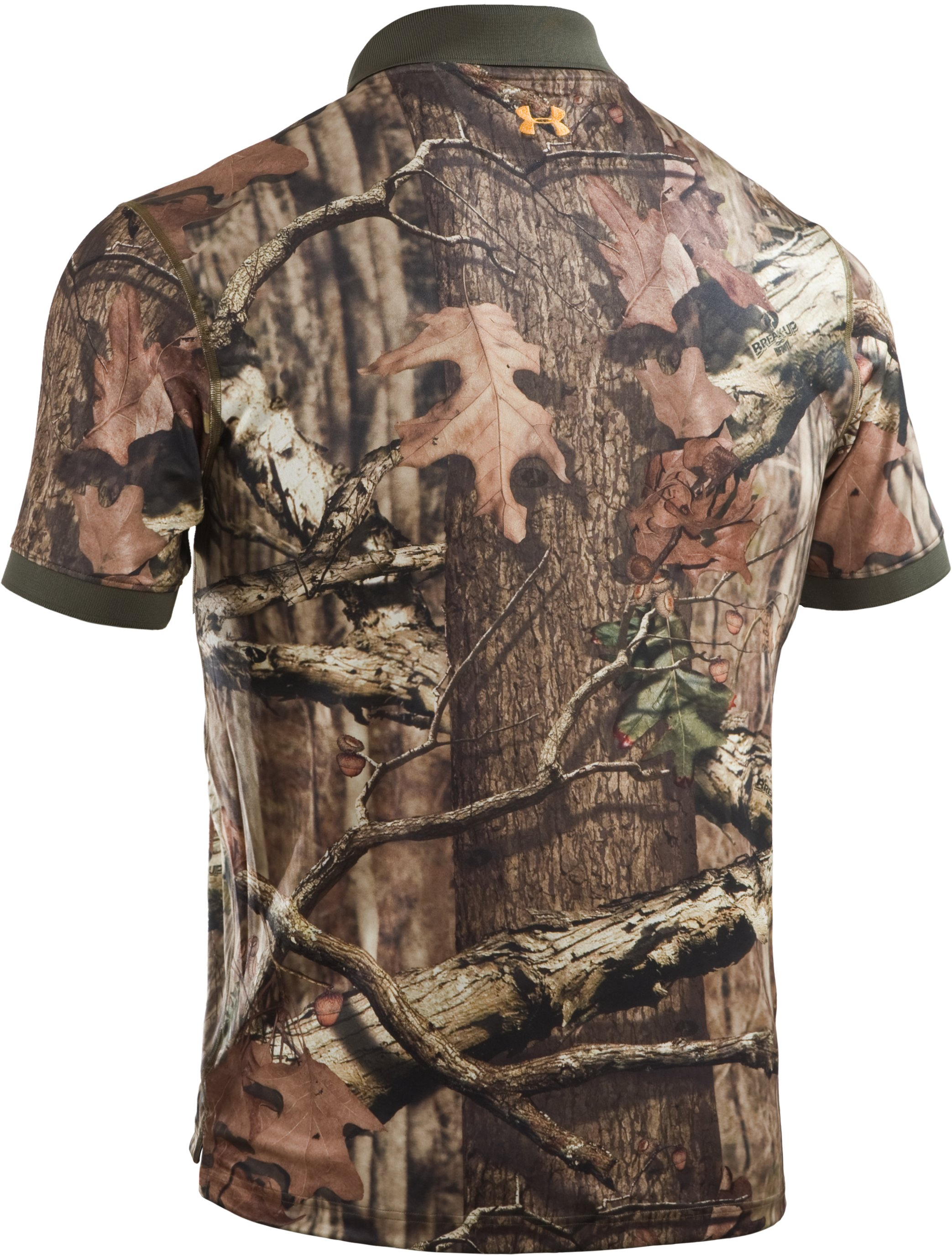 Men's UA Hunt Camouflage Polo, Mossy Oak Break-Up Infinity