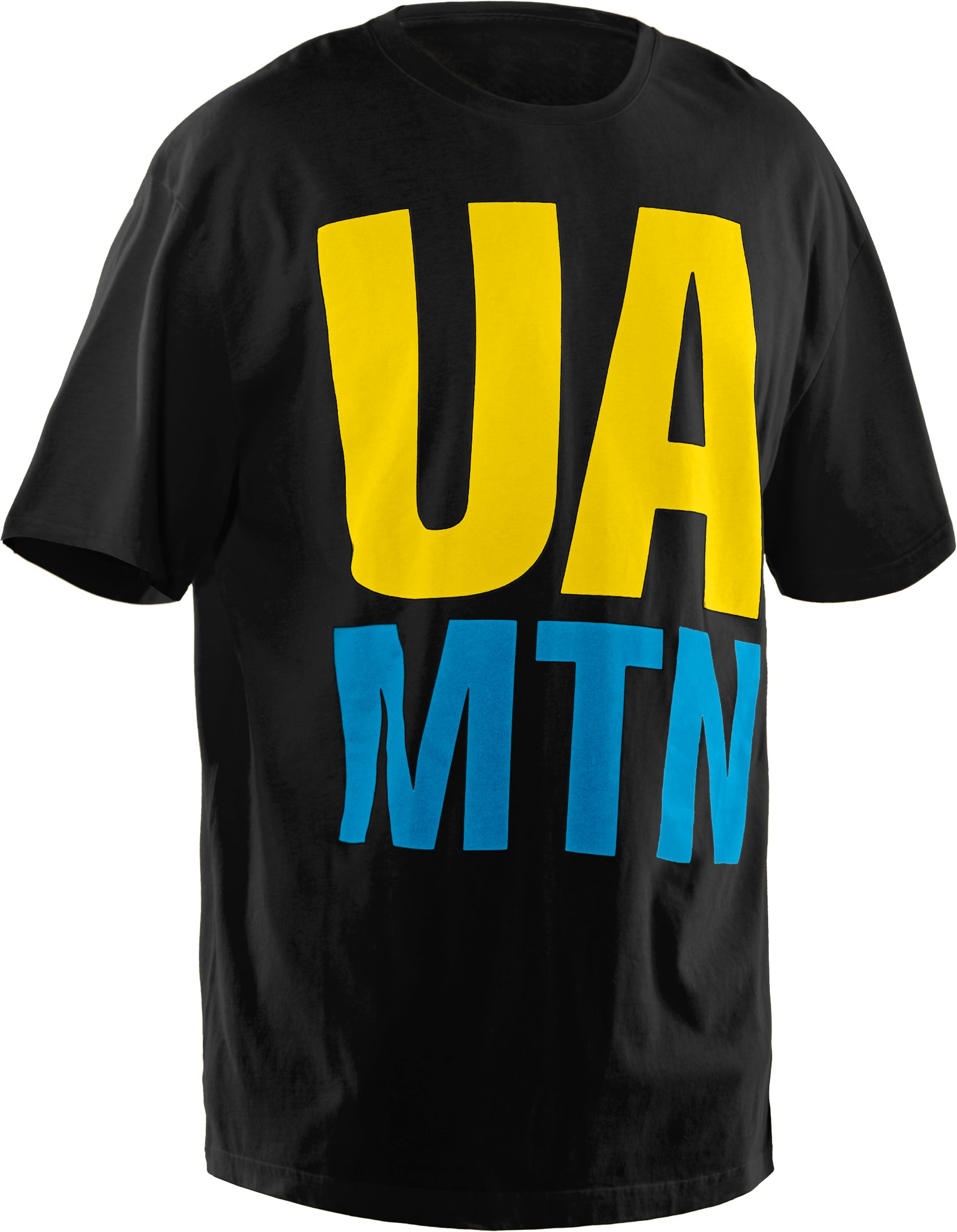 Men's UA Mountain Charged Cotton® T-Shirt, Black