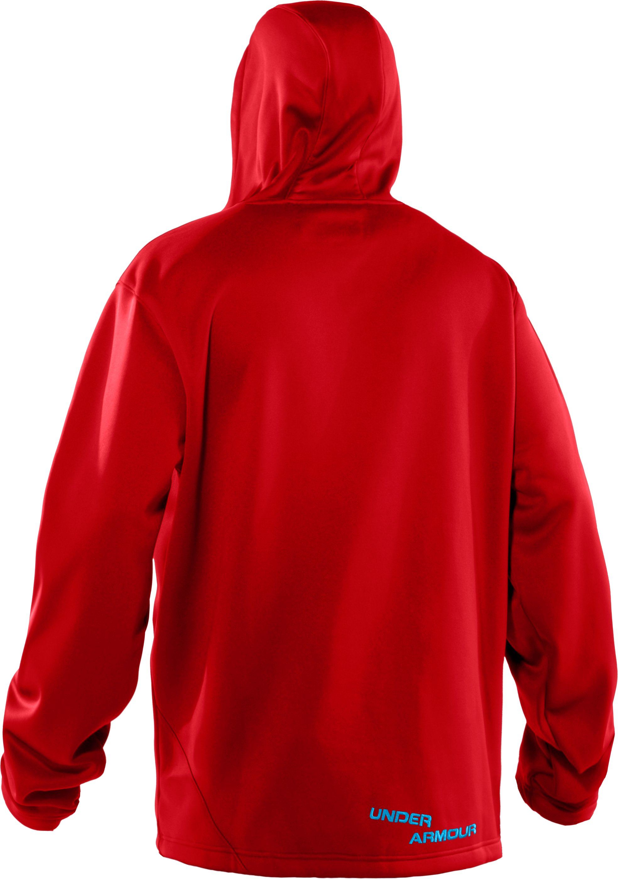 Men's UA Hundo® Mountain Hoodie, University Red