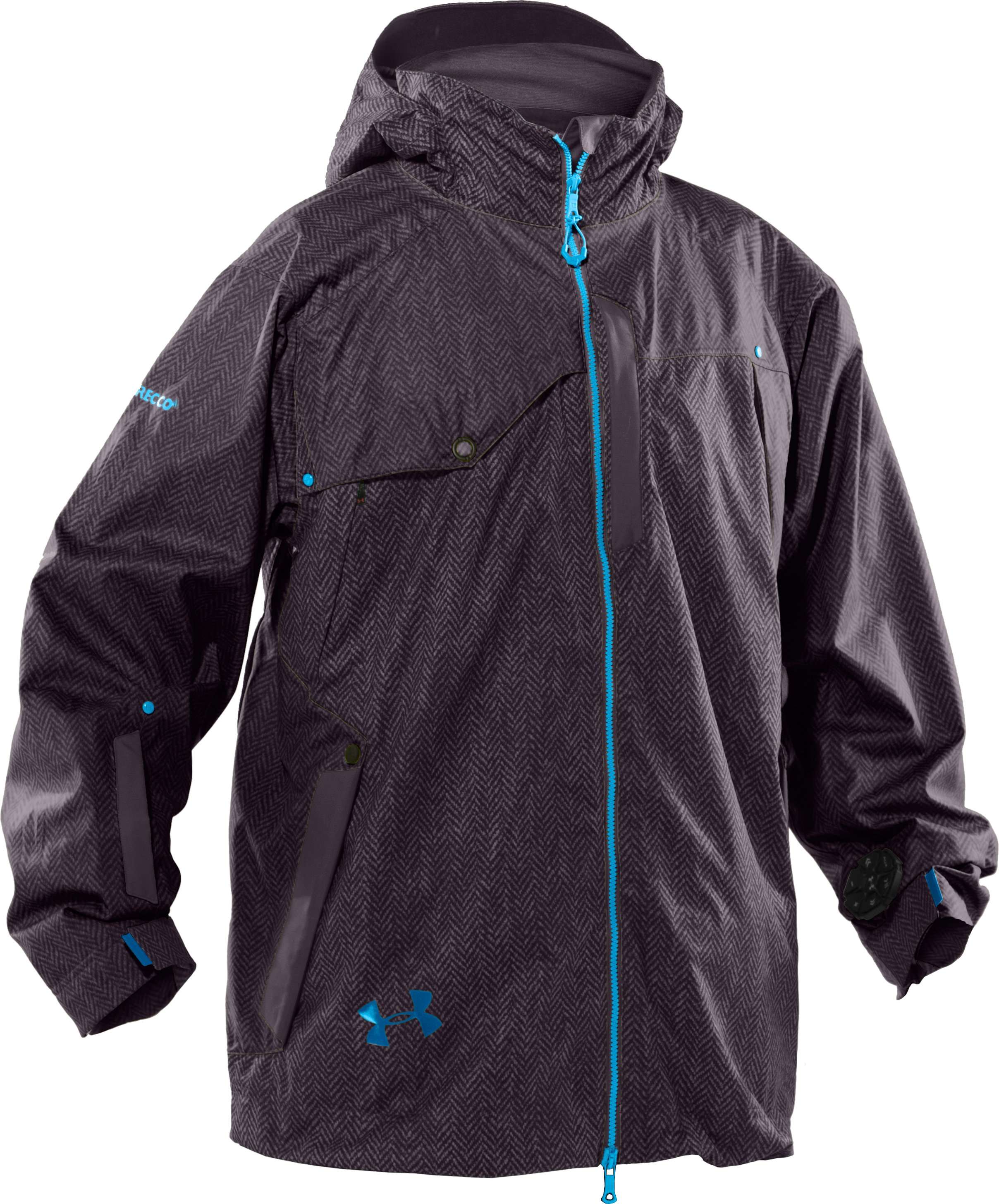 Men's UA Snowpocalypse Ski Jacket, Charcoal, undefined