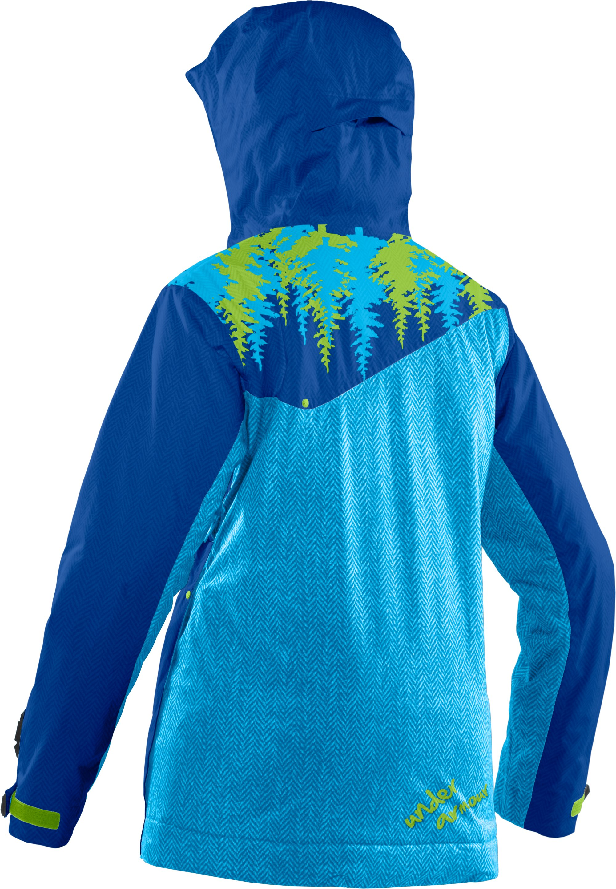 Women's UA Snowmageddon Ski Jacket, Moon Shadow, undefined