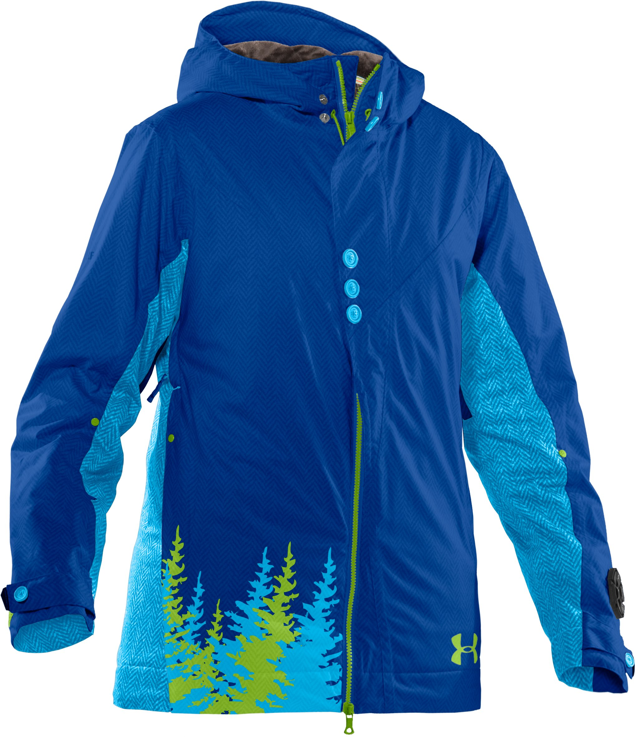 Women's UA Snowmageddon Ski Jacket, Moon Shadow,