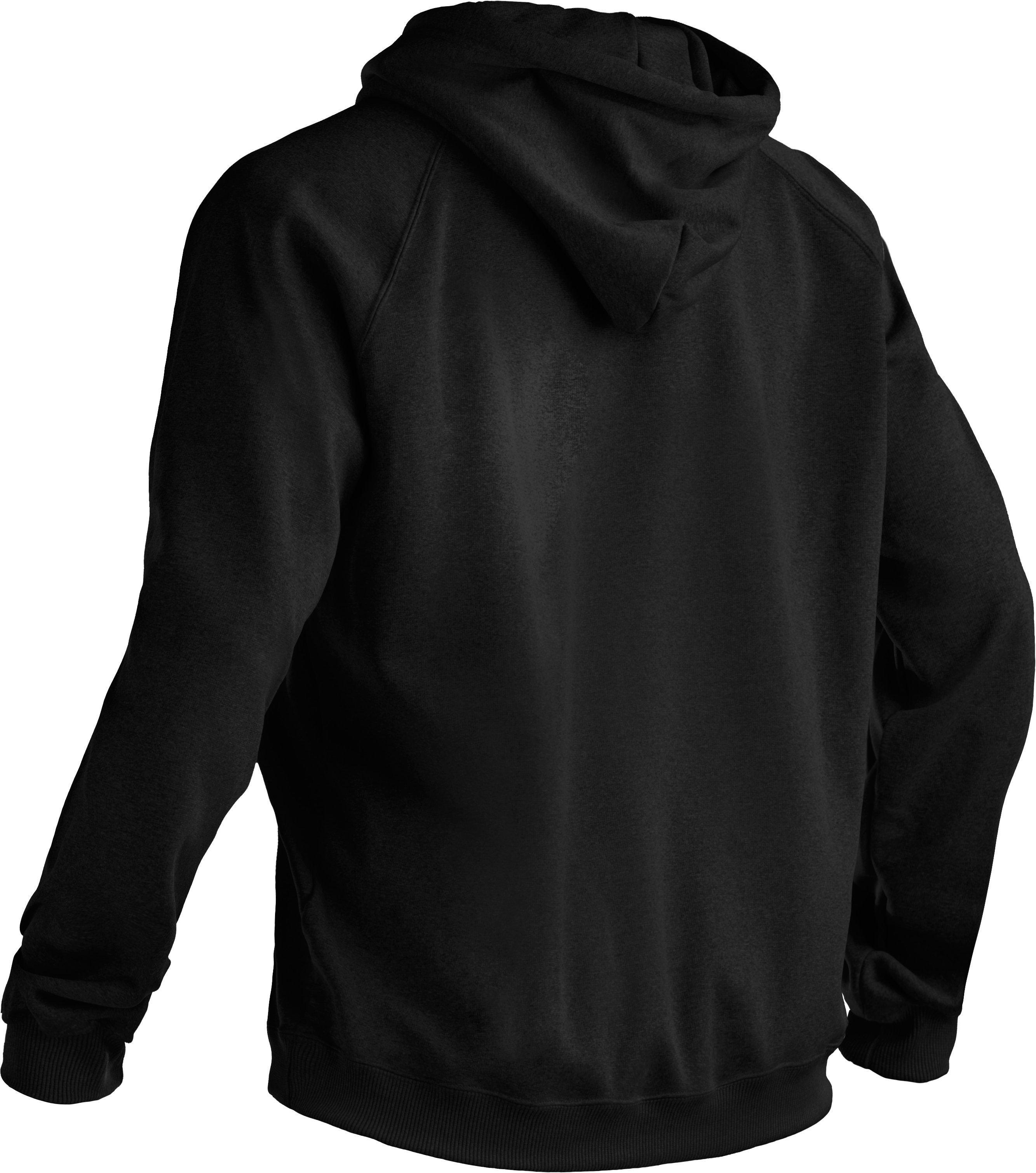 Women's  UA Storm Tackle Twill Hoodie, Black ,