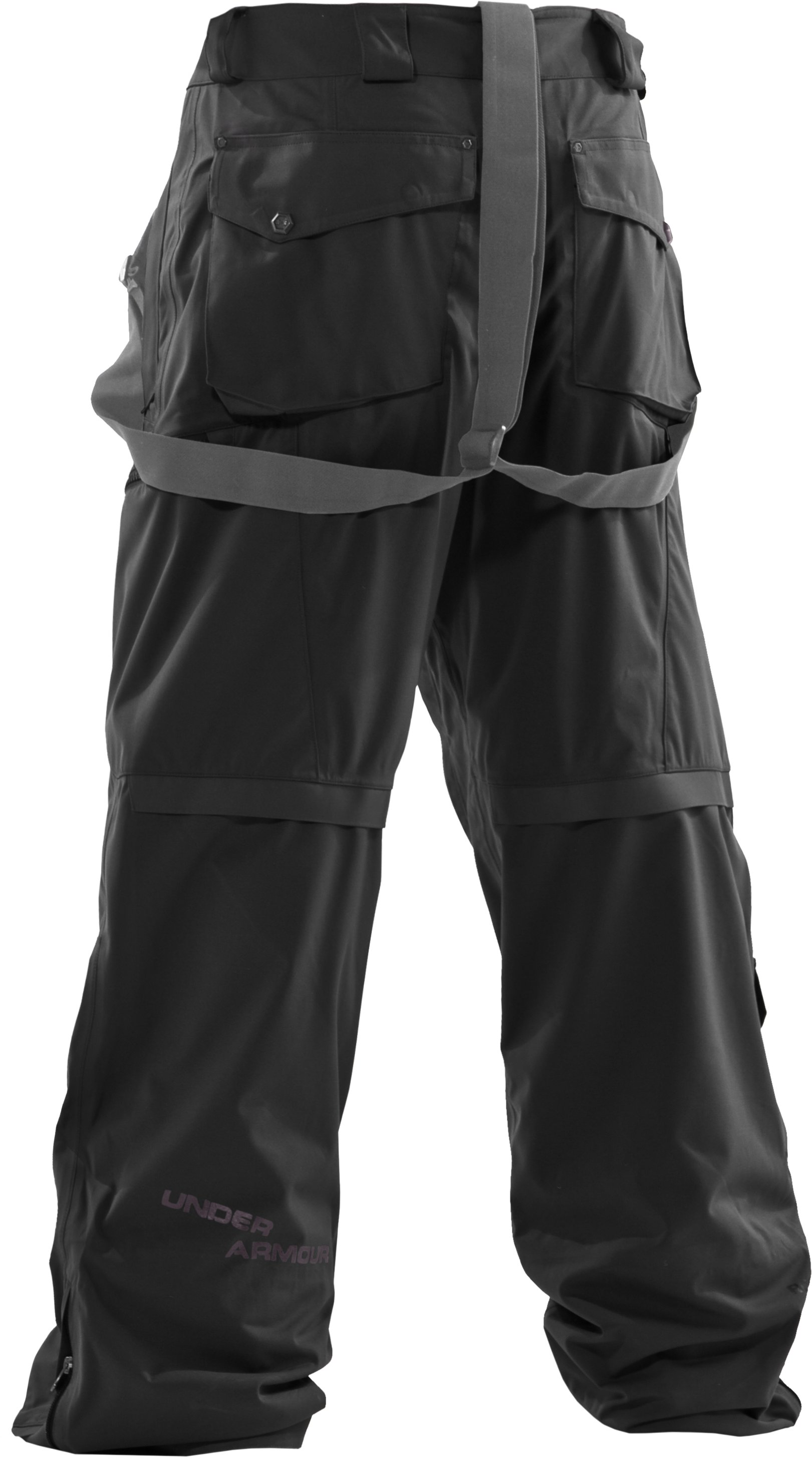 Men's UA Vigor II Waterproof Ski Pants, Black
