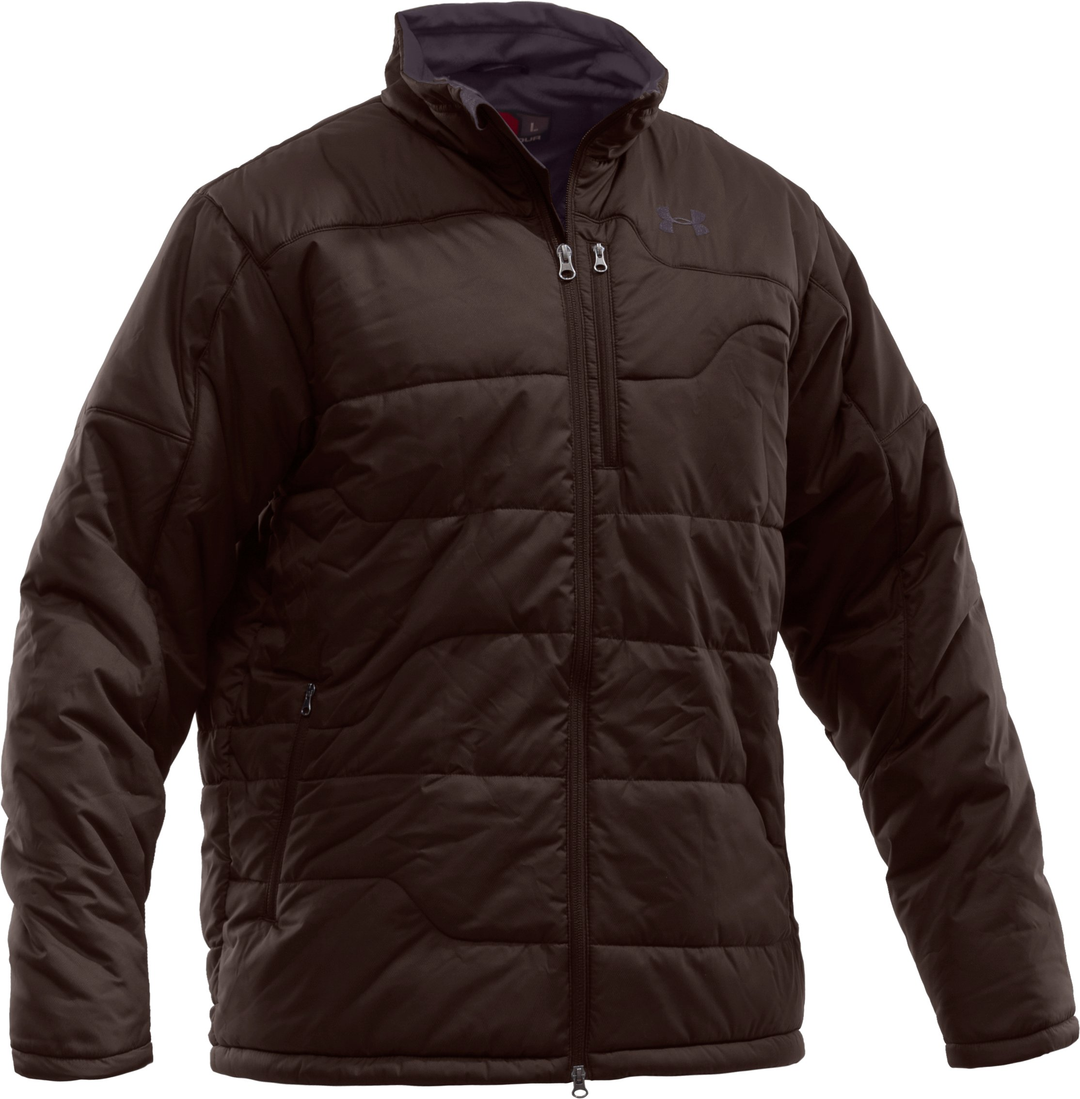 Men's ArmourLoft® Insulated Jacket IV, Timber, zoomed image