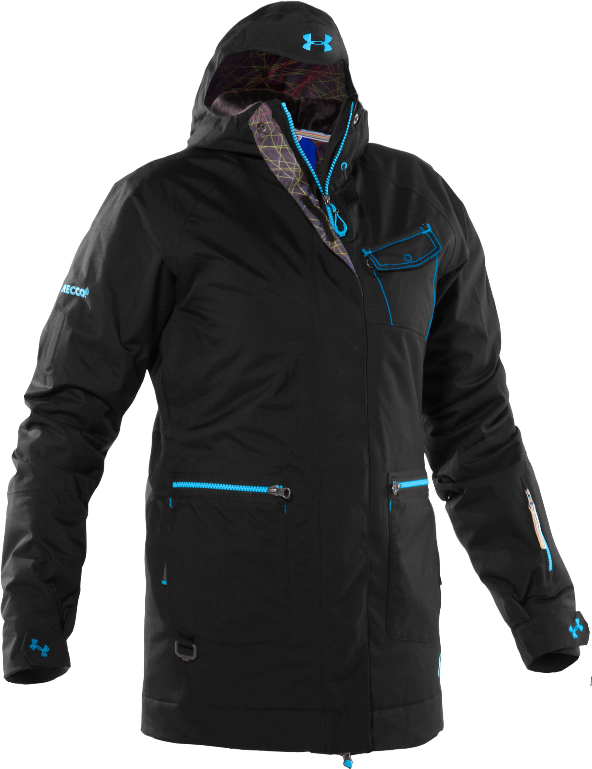 Women's Blar Waterproof Ski Jacket, Black ,