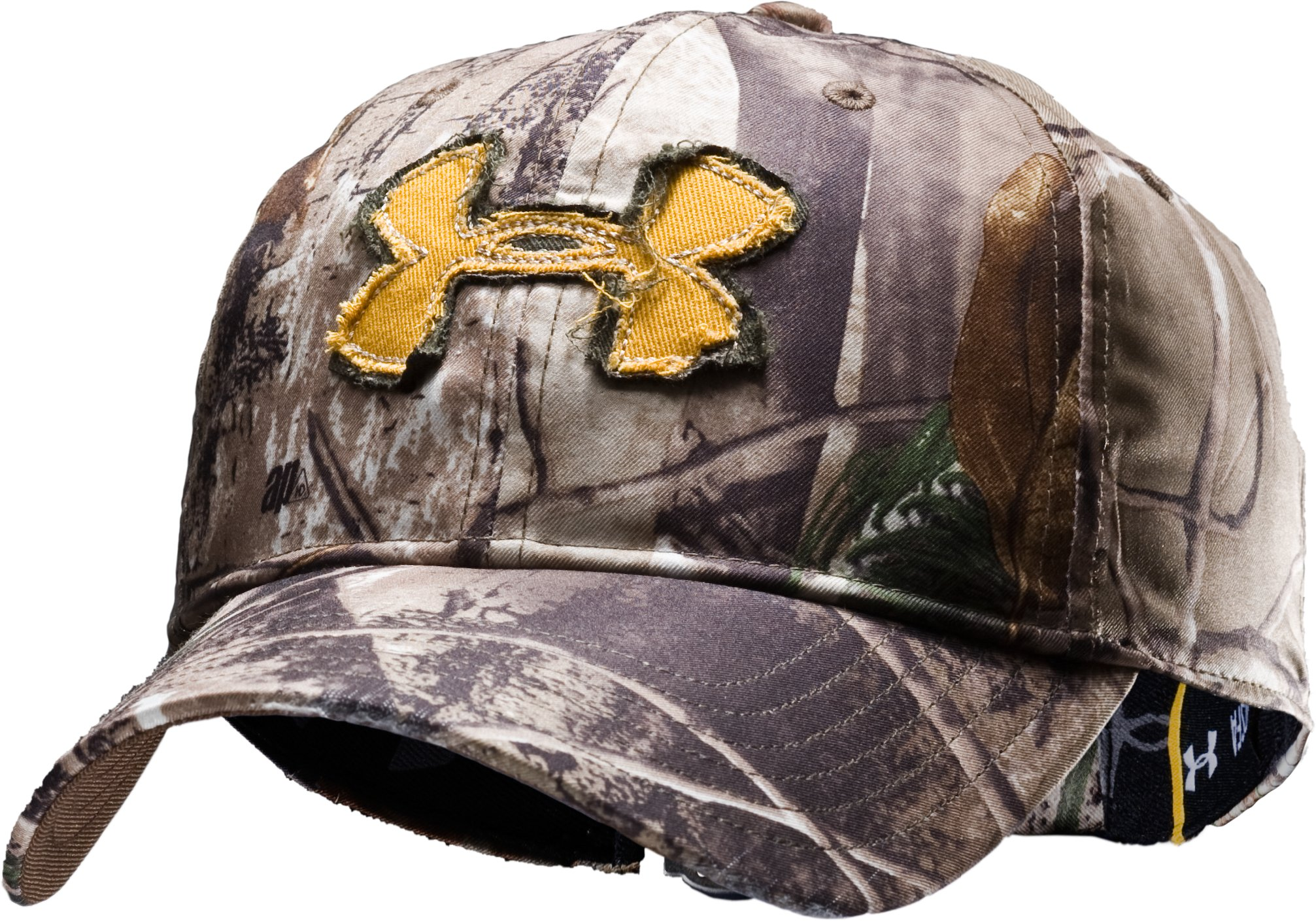 Men's UA Camo Alpine Adjustable Cap, Realtree AP