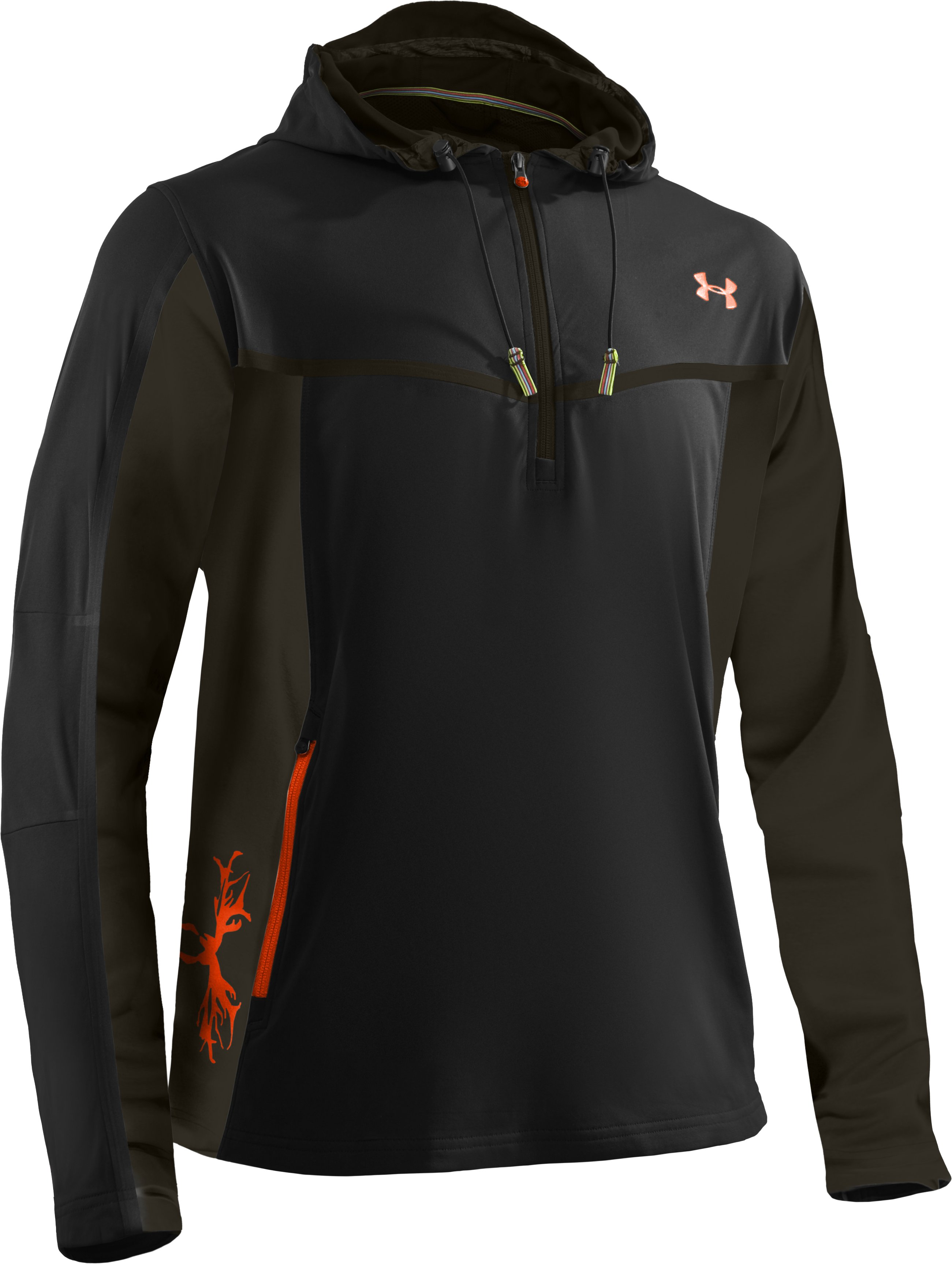 Men's UA Scent Control Early Season Hunting Hoodie, Black