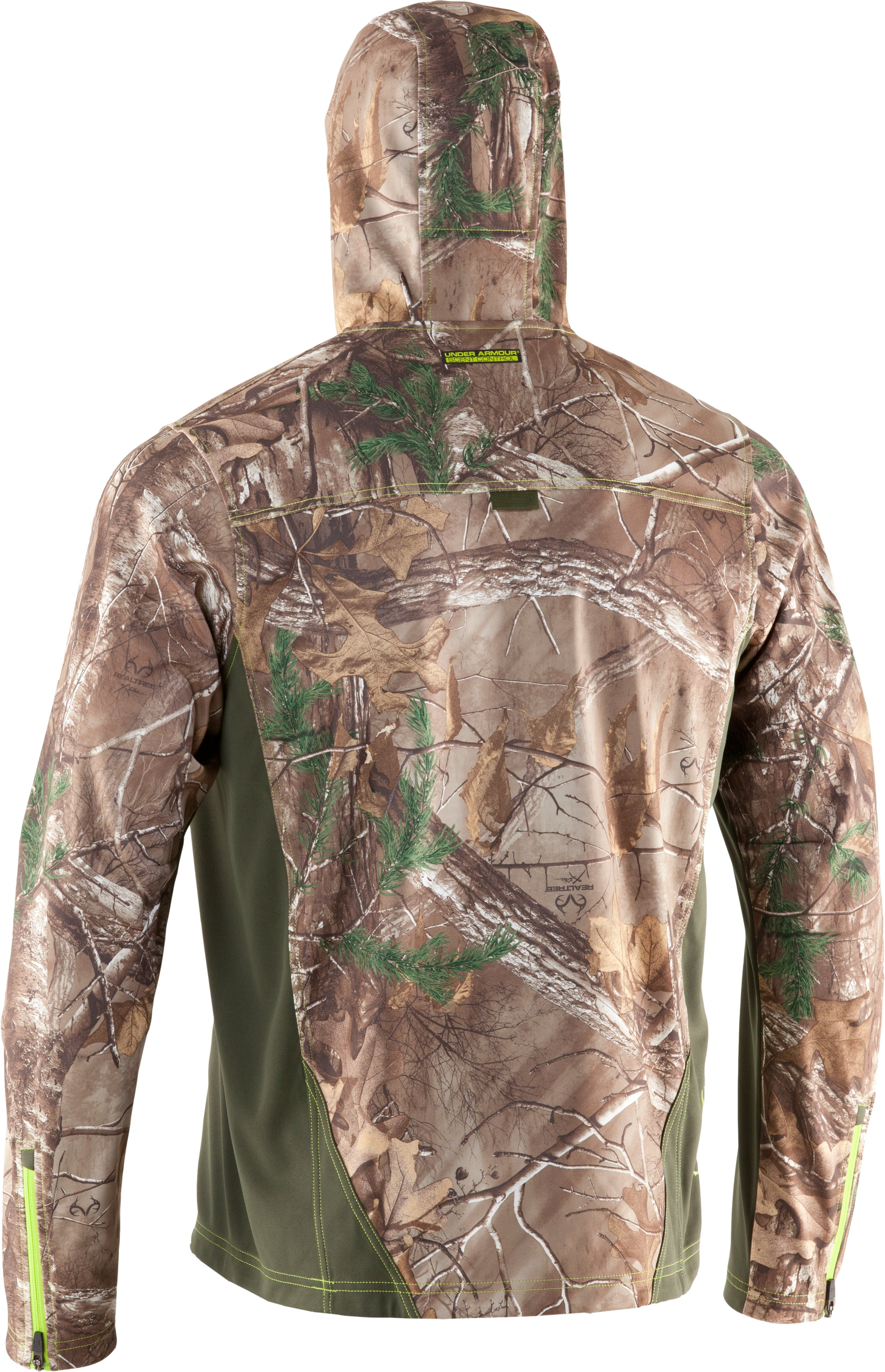 Men's UA Scent Control Early Season Hunting Hoodie, REALTREE AP-XTRA