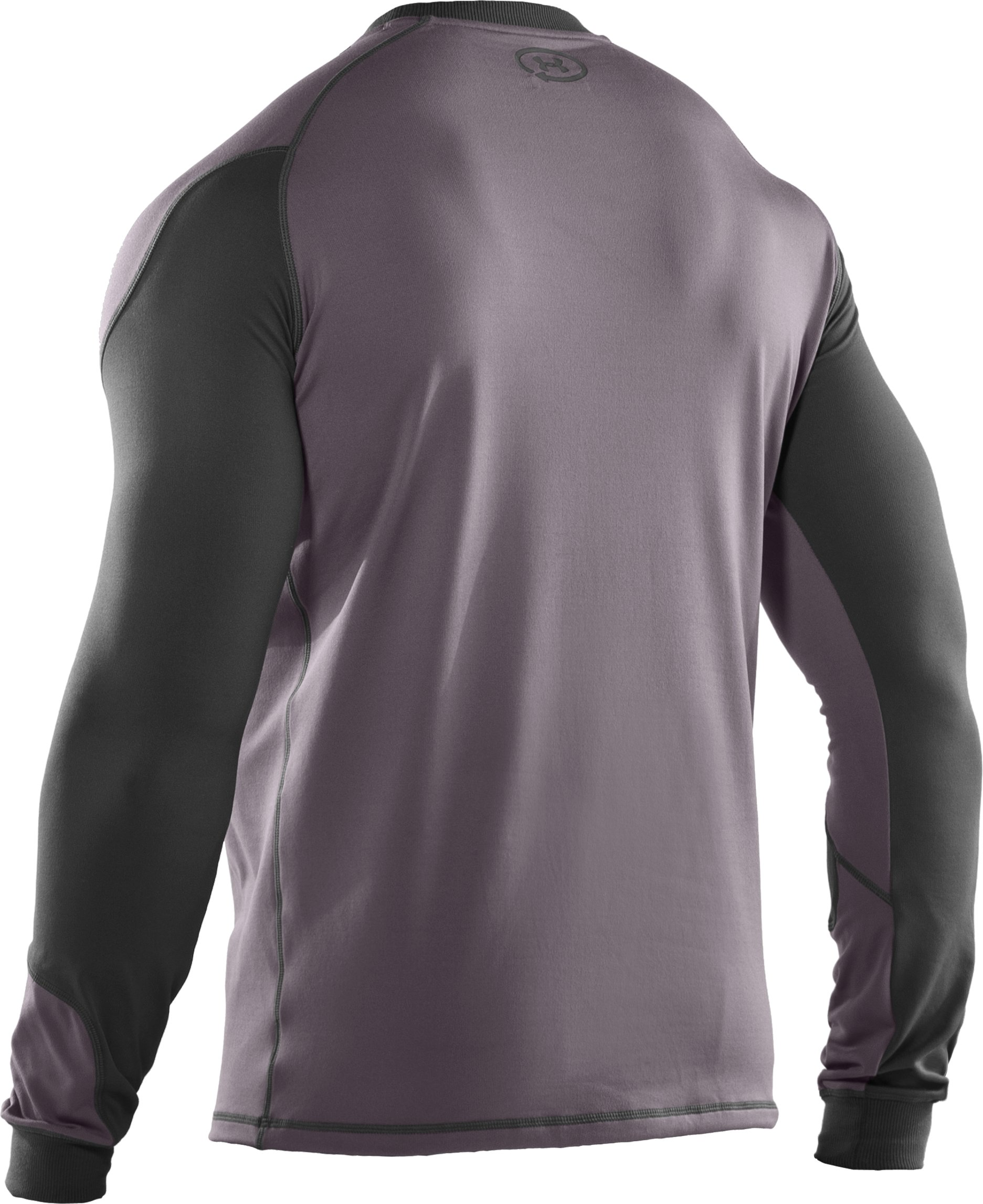 Men's ColdGear® UA Catalyst Crew, Charcoal