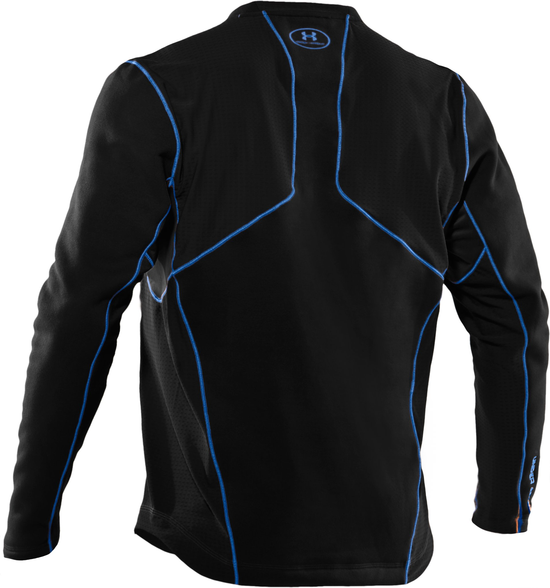 Men's Extreme ColdGear® Fitted Long Sleeve Crew, Black