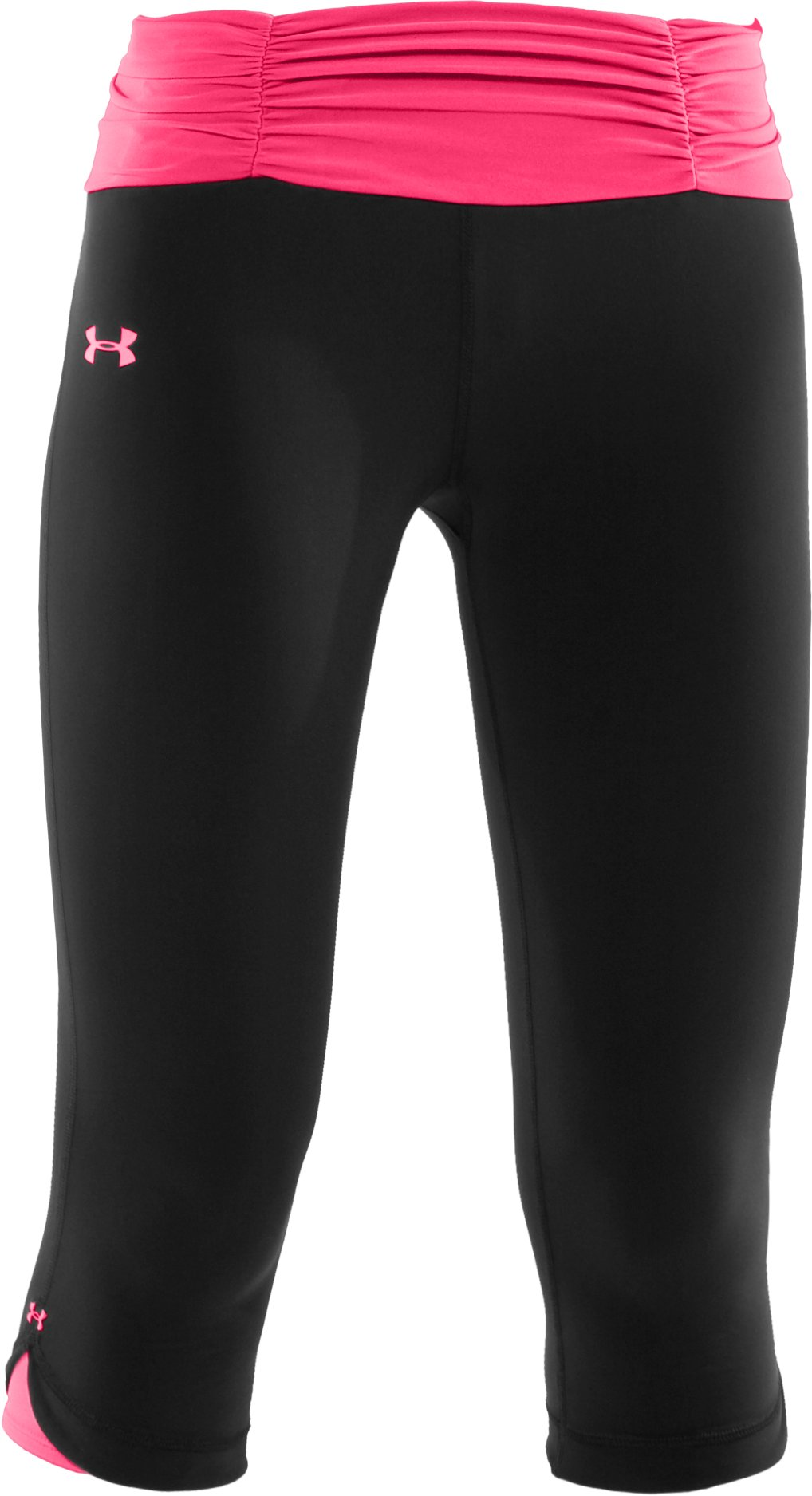Women's Shatter II Capri Pants, Black , undefined
