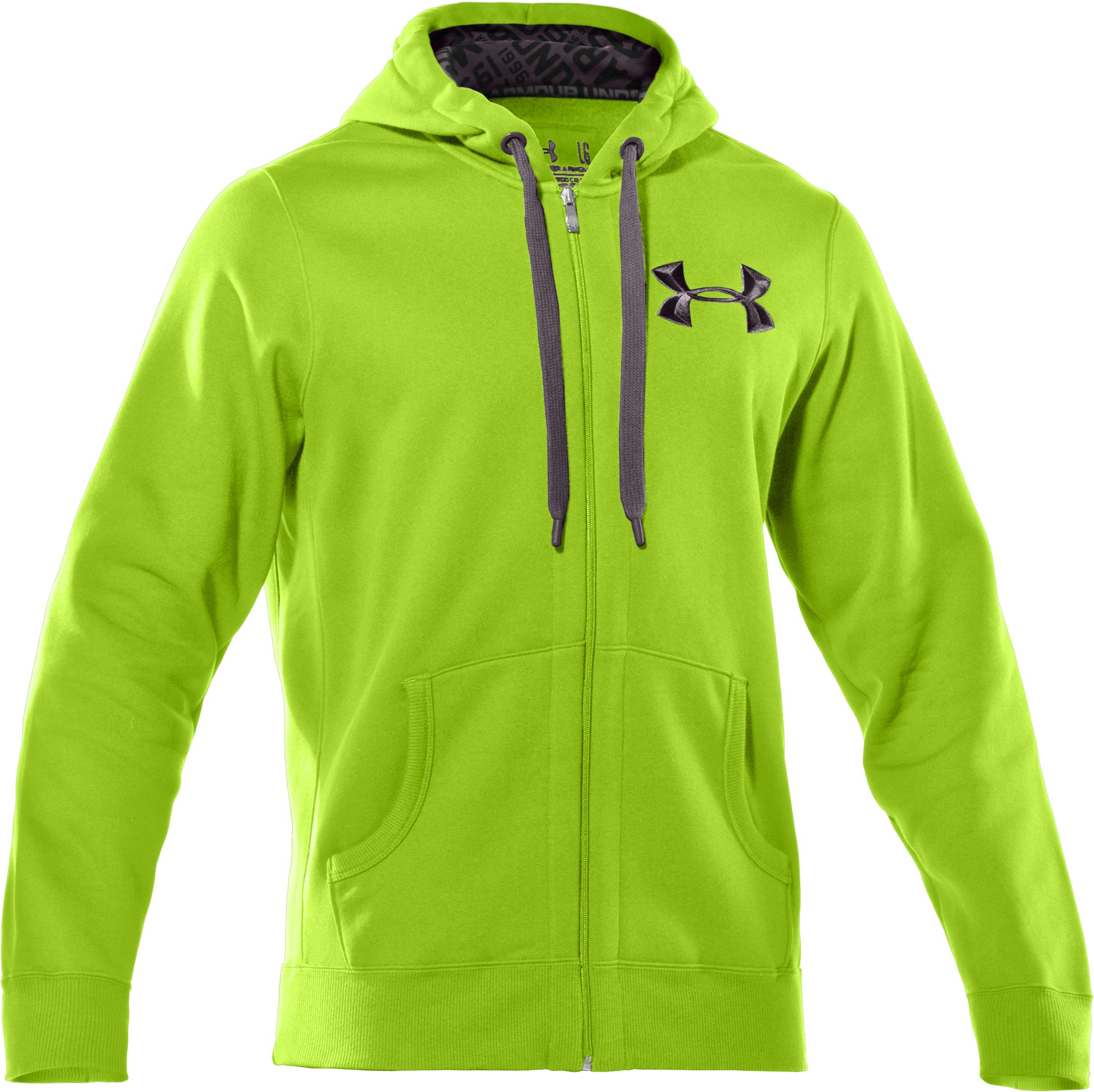 Men's UA Charged Cotton® Storm Full Zip Hoodie, Fusion,