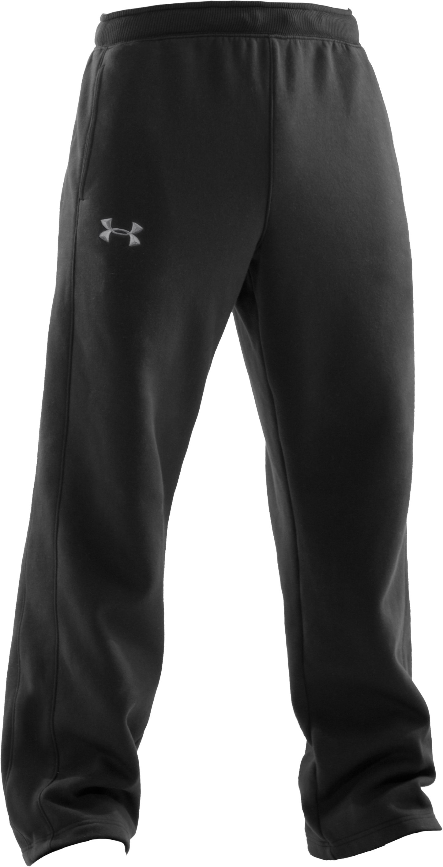 Men's UA Charged Cotton® Storm Fleece Pants, Black