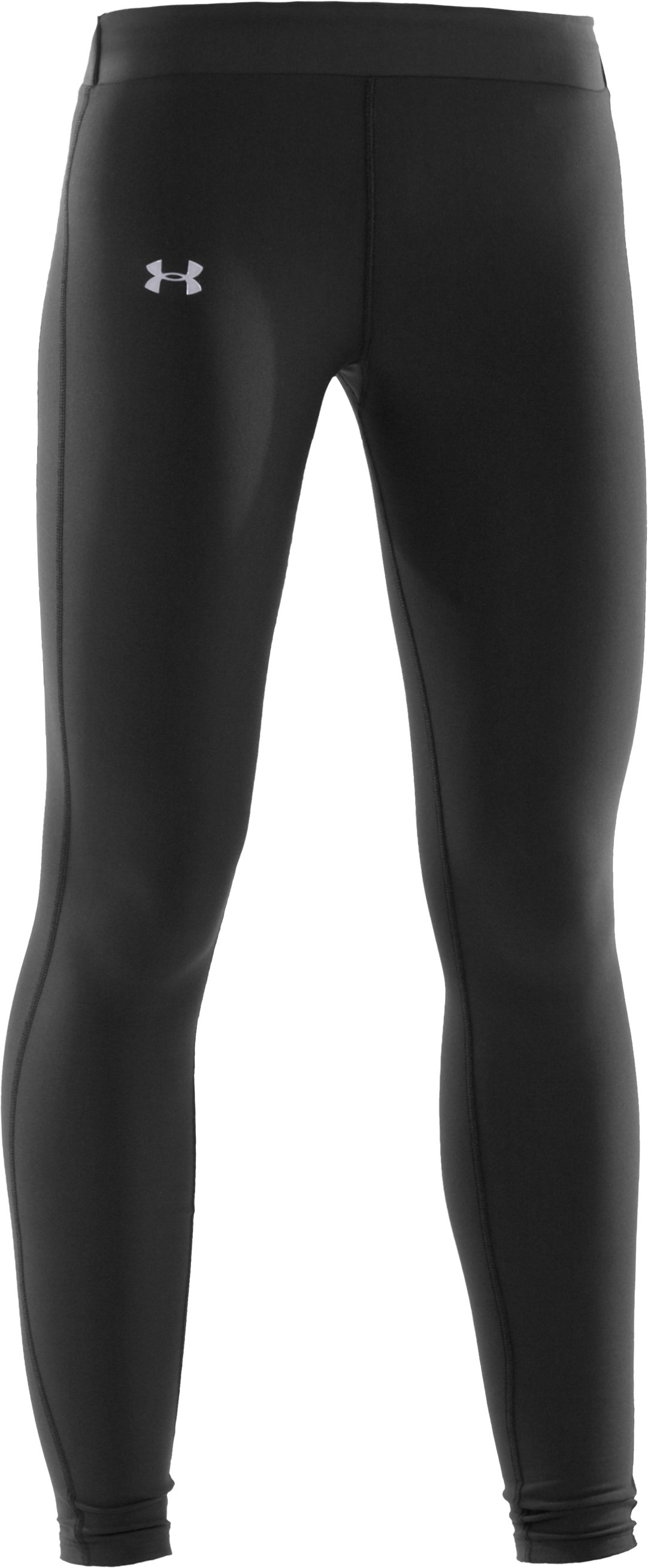 Women's UA ColdGear® Compression Leggings, Black , undefined