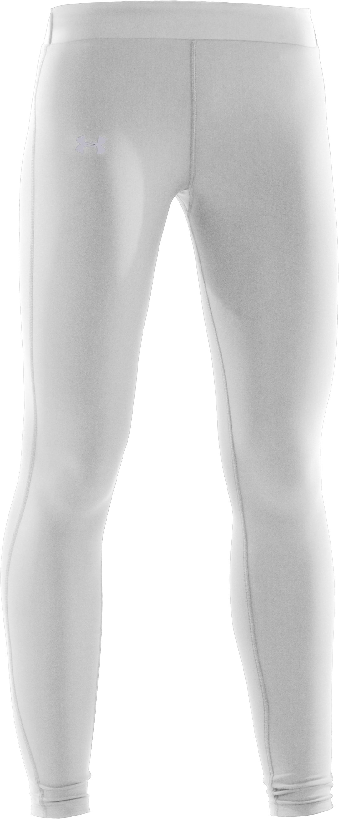 Women's UA ColdGear® Compression Leggings, White,