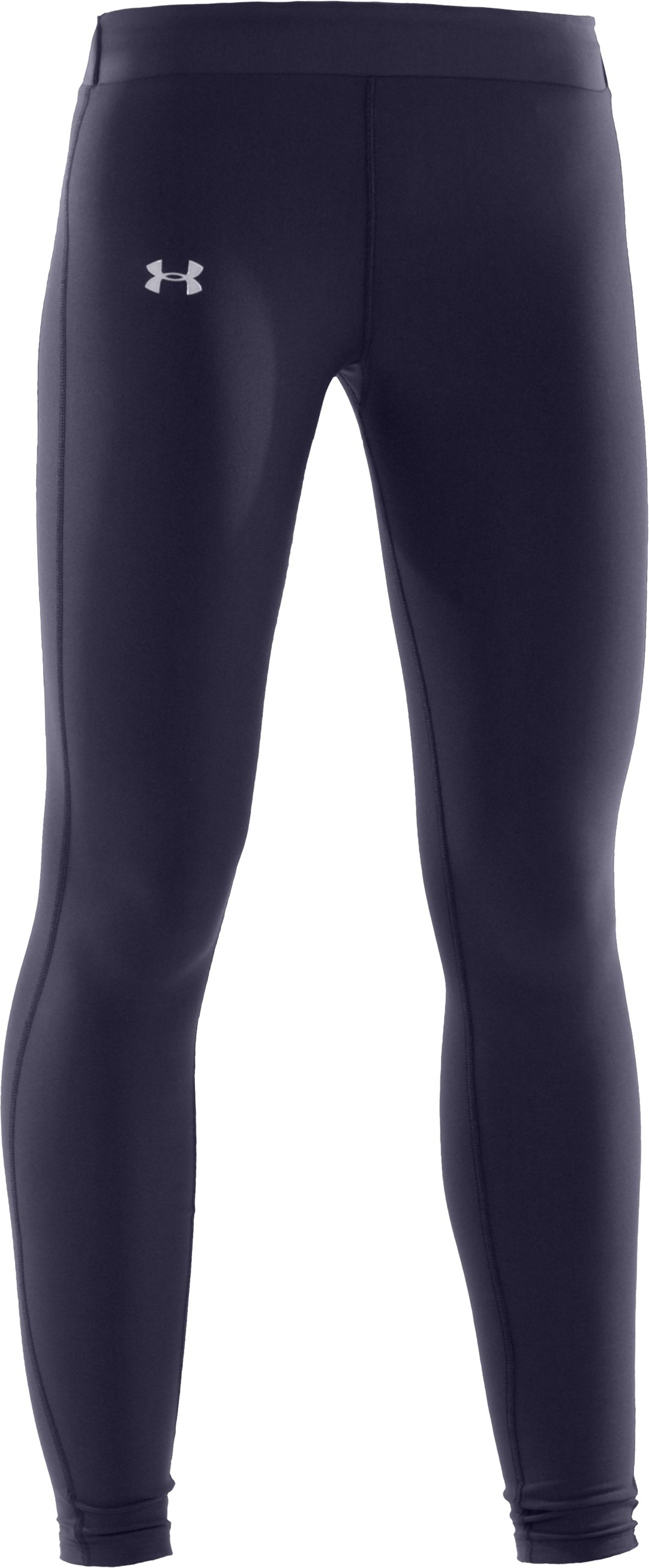 Women's UA ColdGear® Compression Leggings, Midnight Navy, undefined