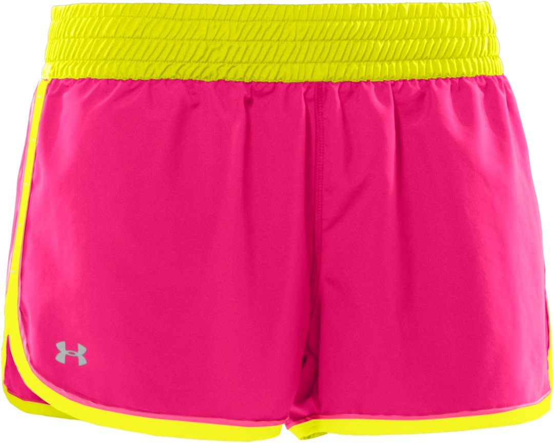 "Women's UA Great Escape 3"" Shorts, Cerise, undefined"