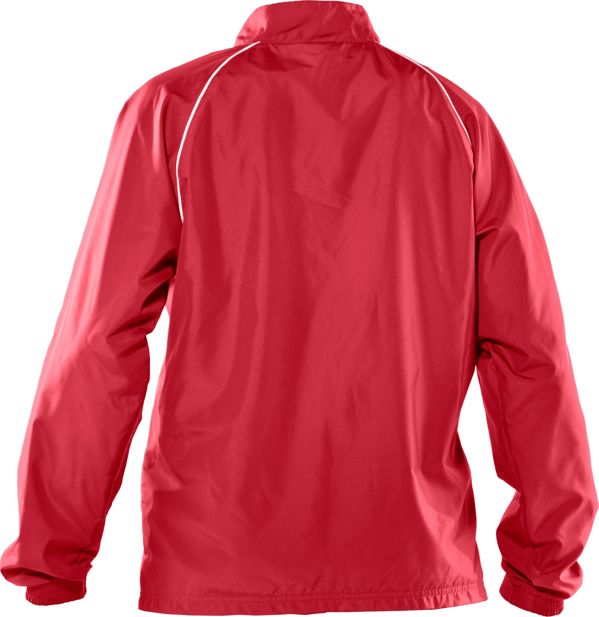 Women's Advance Woven Warm-Up Jacket, Red