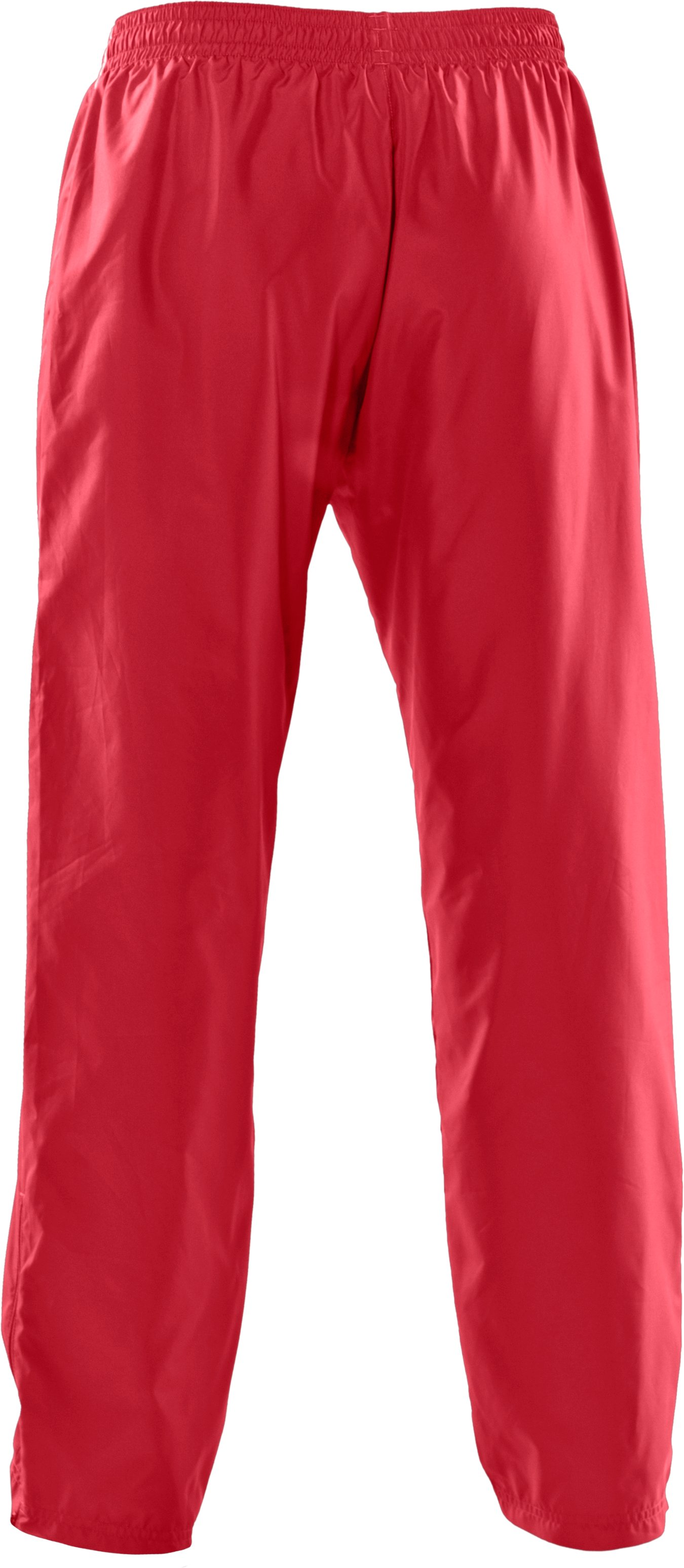 Women's Advance Woven Warm-Up Pants, Red
