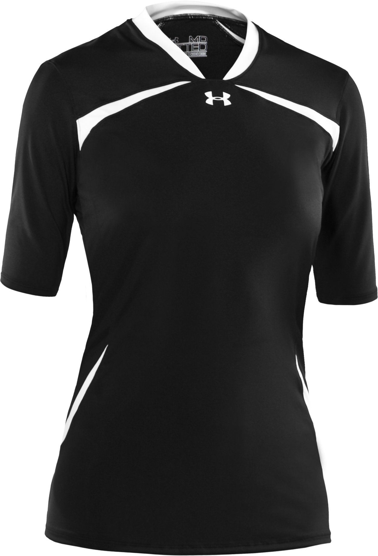 Women's UA Elevate ½ Sleeve Volleyball Jersey, Black